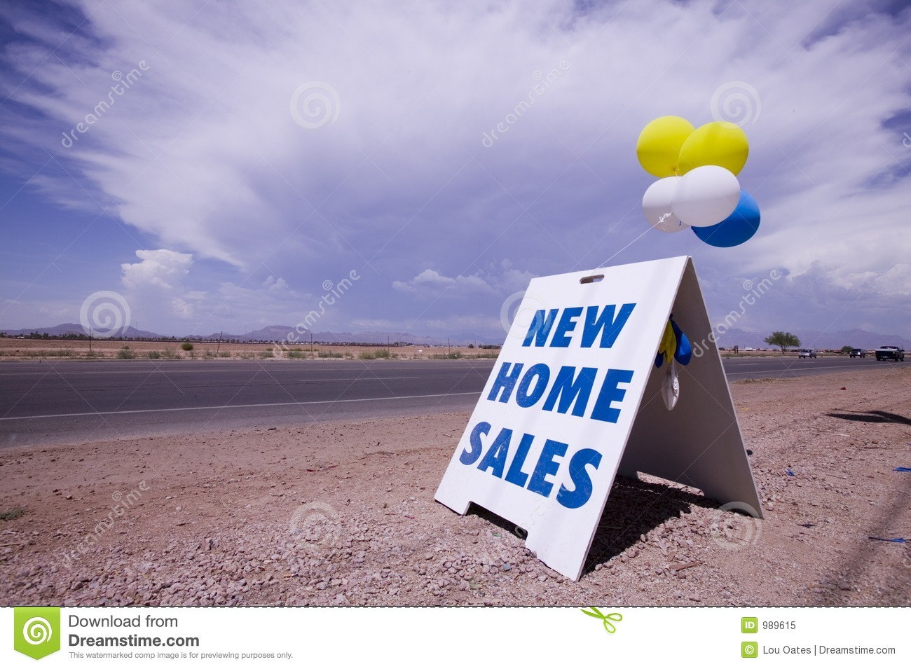 New Home Sales Royalty Free Stock Photo Image 989615