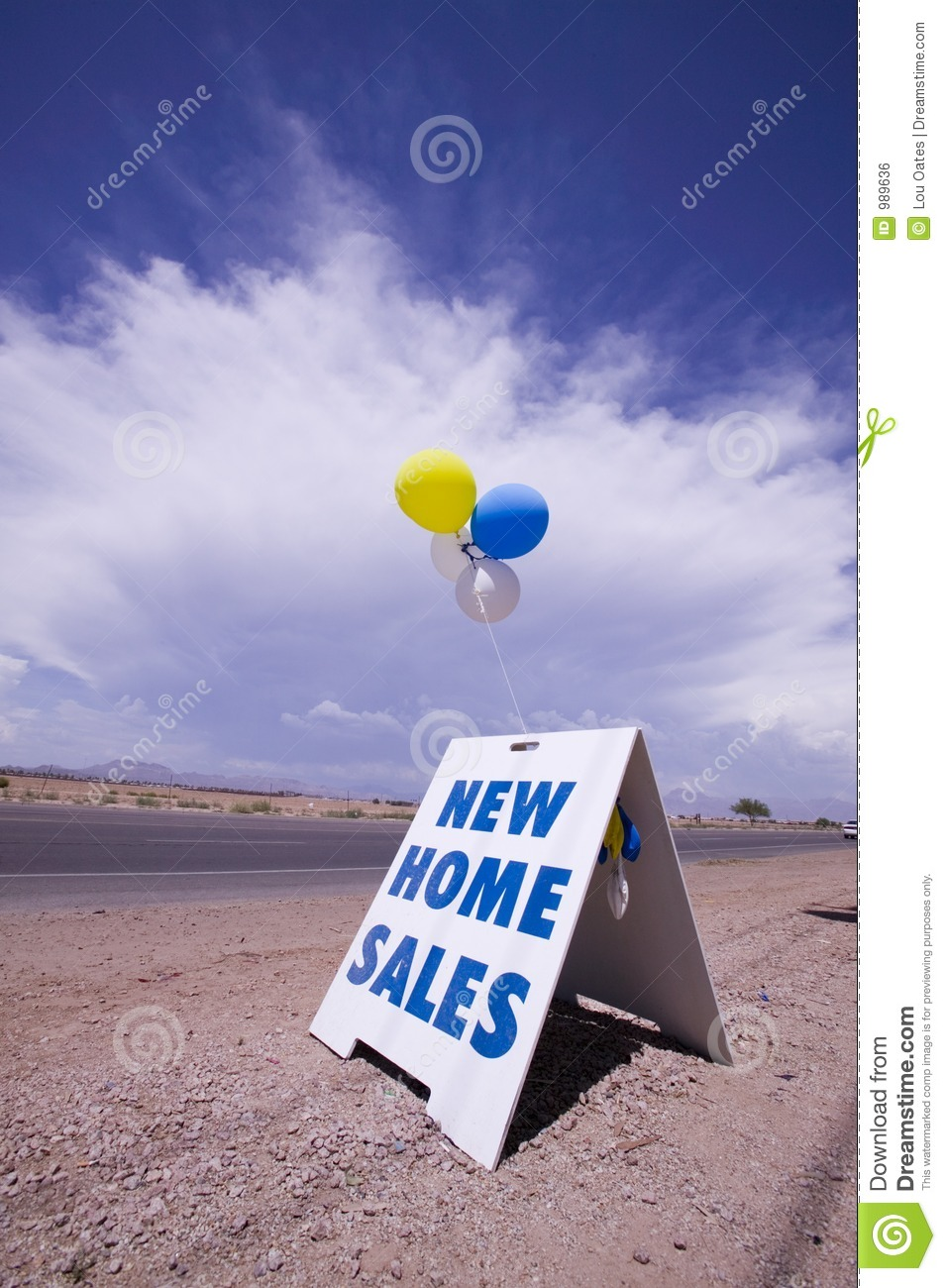 New Home Sales Royalty Free Stock Image Image 989636