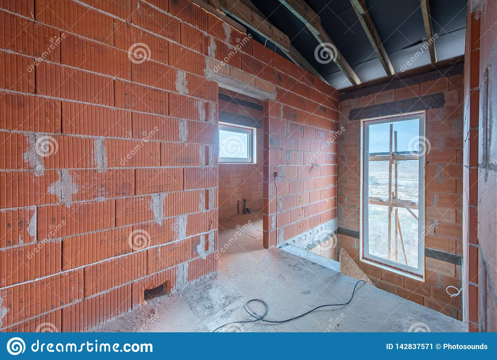 Fantastic A New Home Under Construction Stock Image Image Of Europe Build Wiring Digital Resources Almabapapkbiperorg