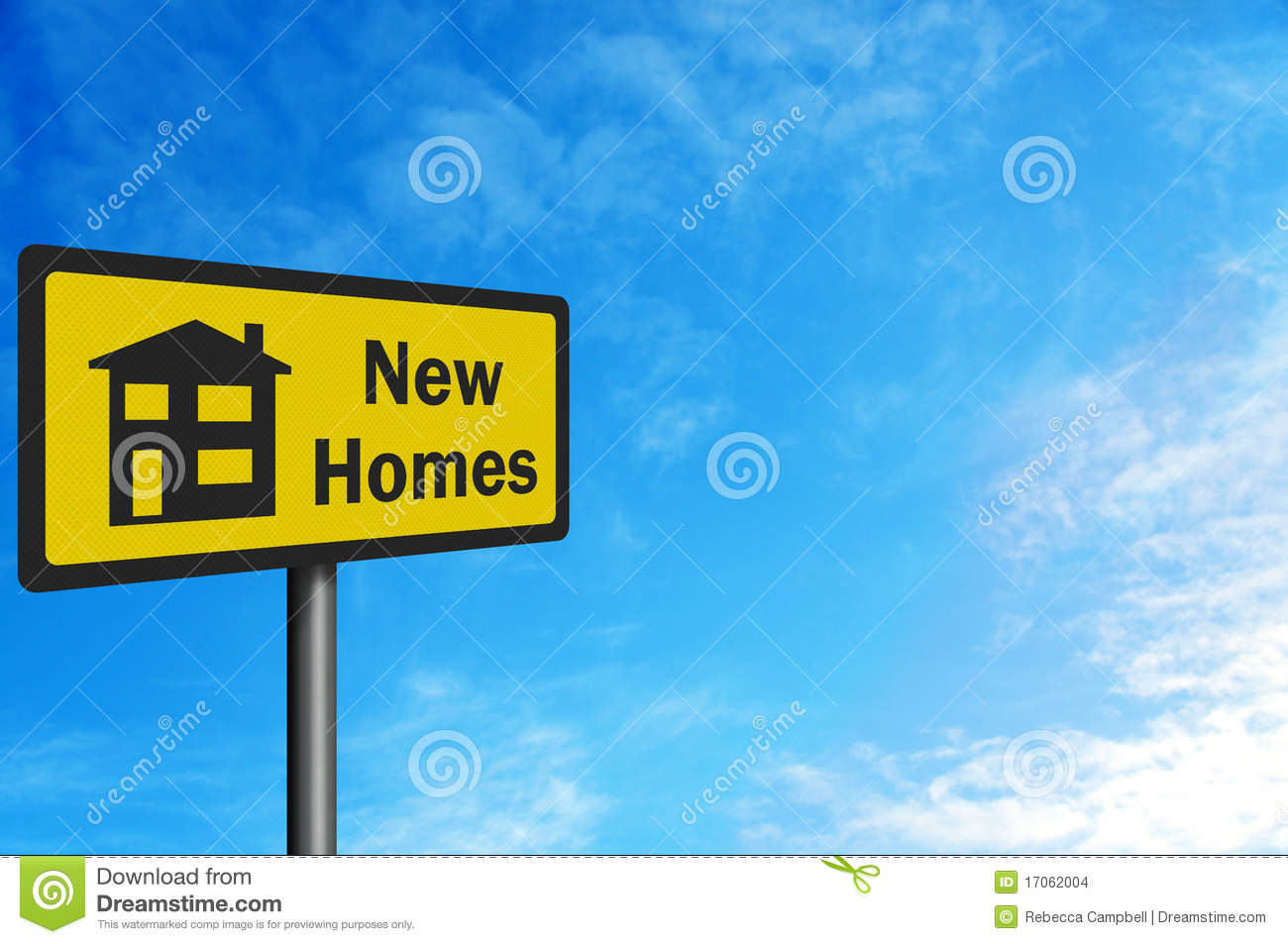 39 new homes 39 photo realistic sign stock images image for New home sign