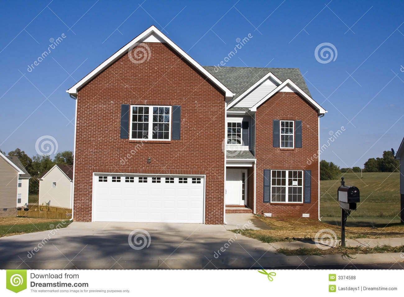 New homes for sale royalty free stock photos image 3374588 for New homes for sale