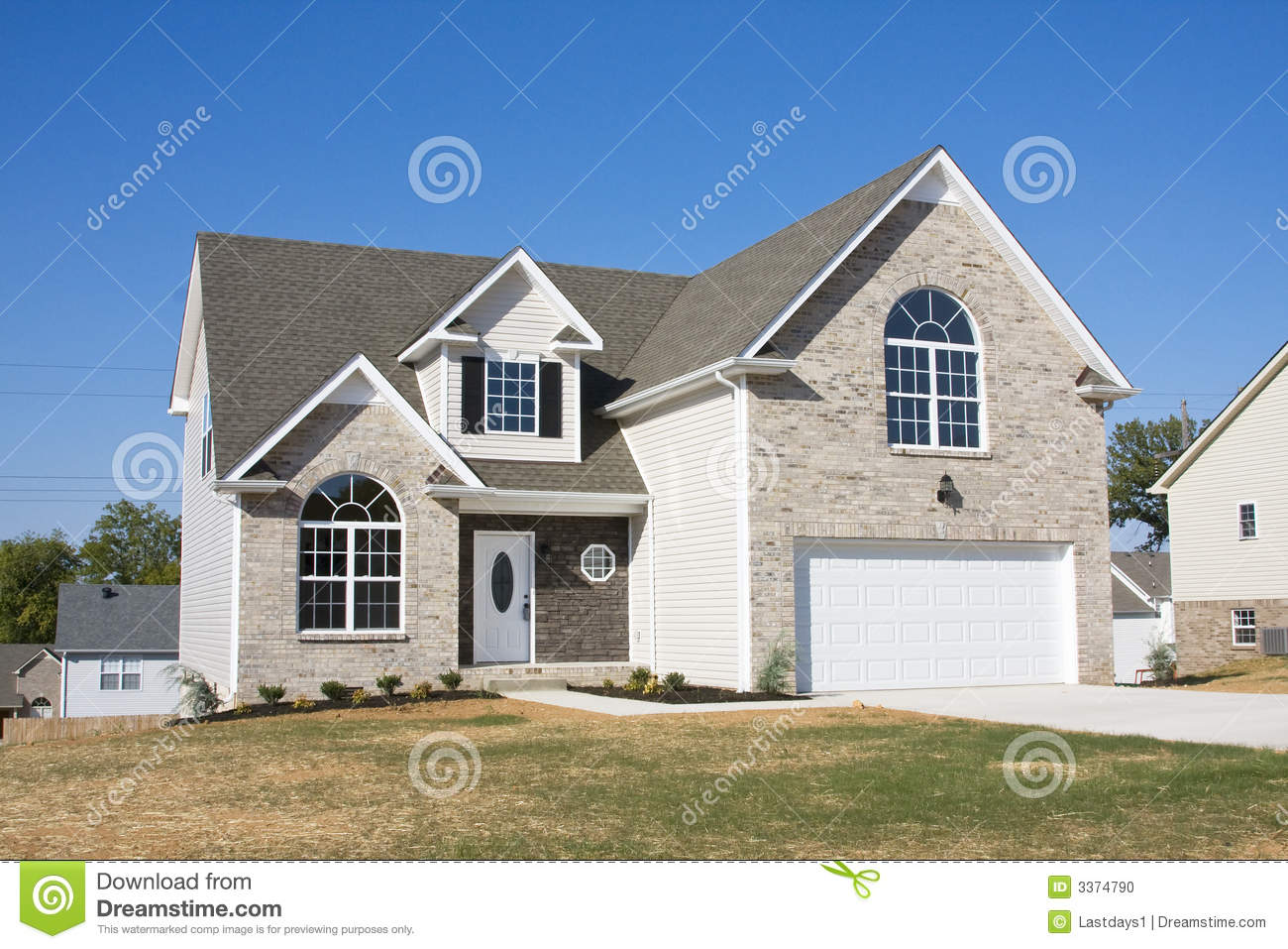 New homes for sale stock photo image 3374790 for New homes for sale