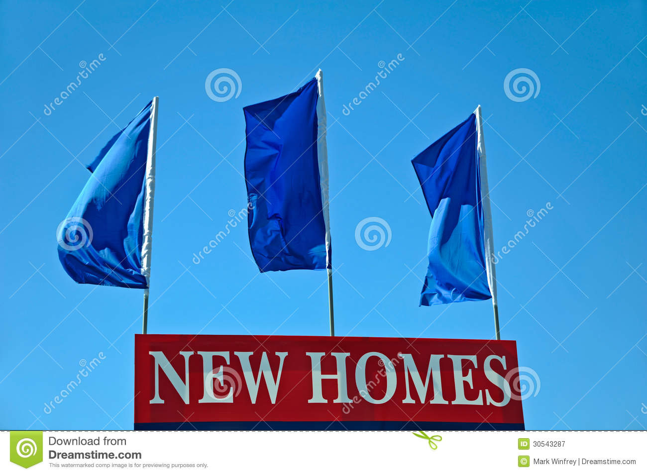 New homes sign royalty free stock photography image for New home sign