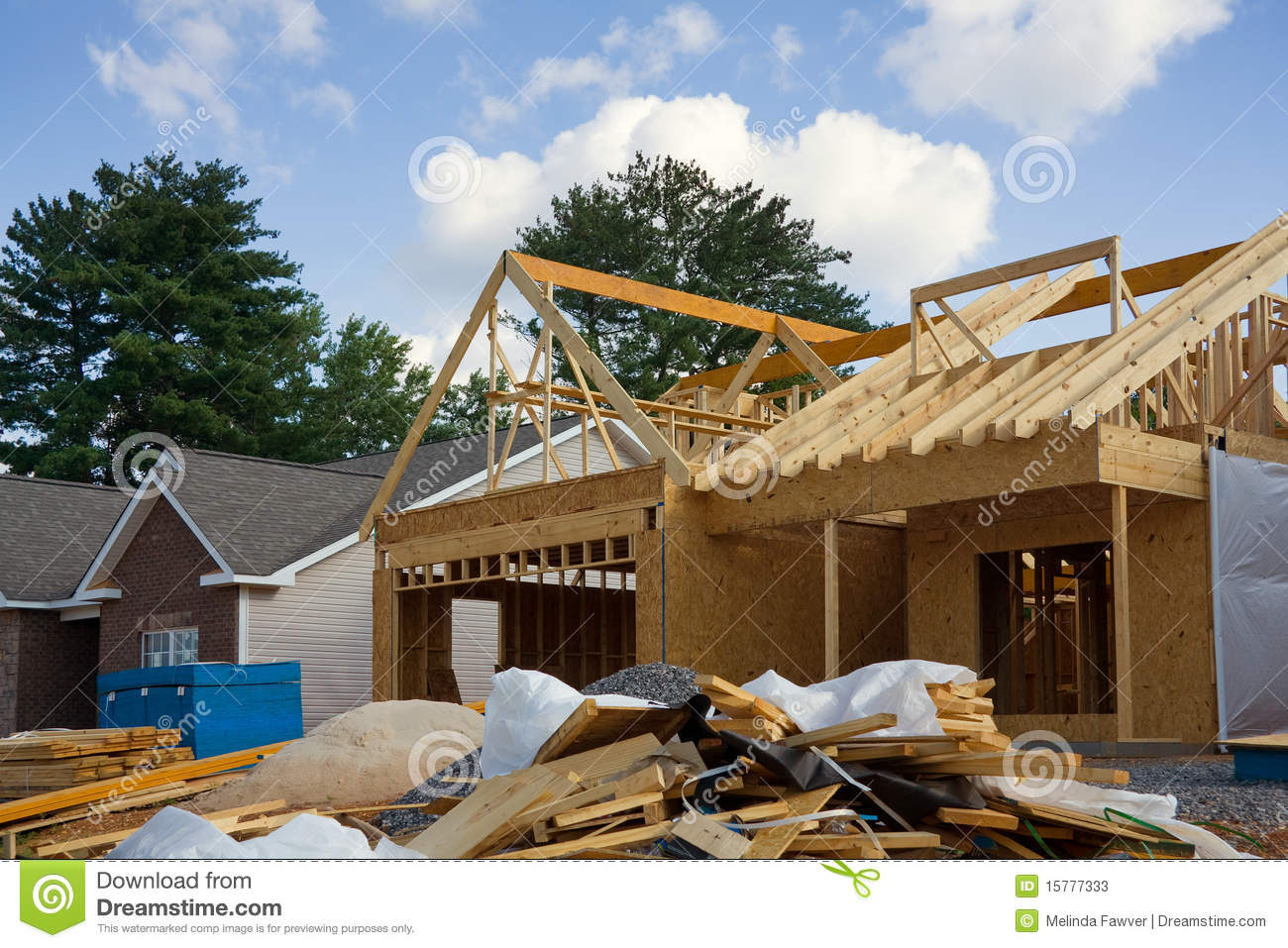 Home construction stages of home construction for Stages of home construction