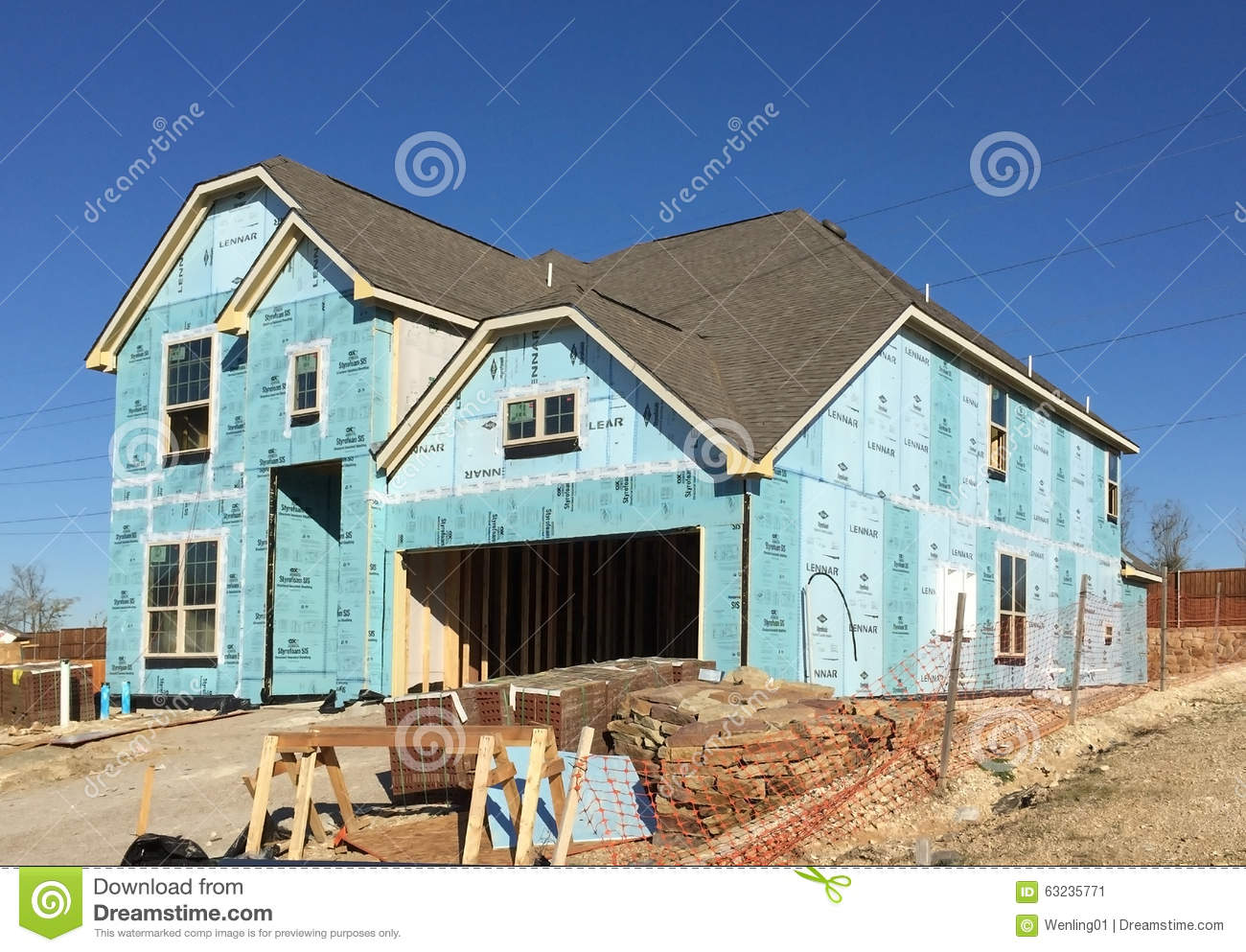 Building A New House Cartoon : Old lumber rooms stock photo cartoondealer