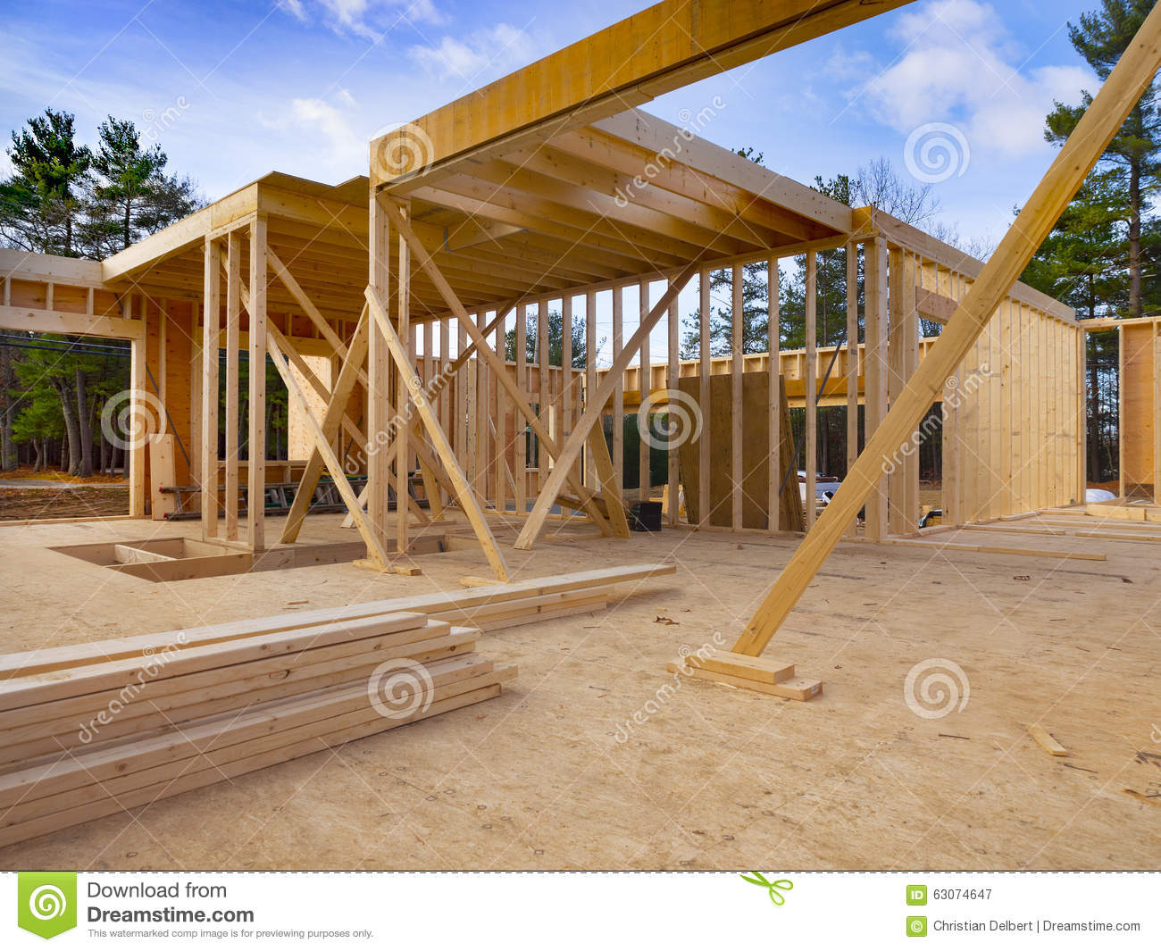 Exceptional New House Construction Site