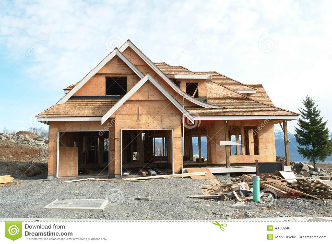 New house home construction royalty free stock image for New home images free