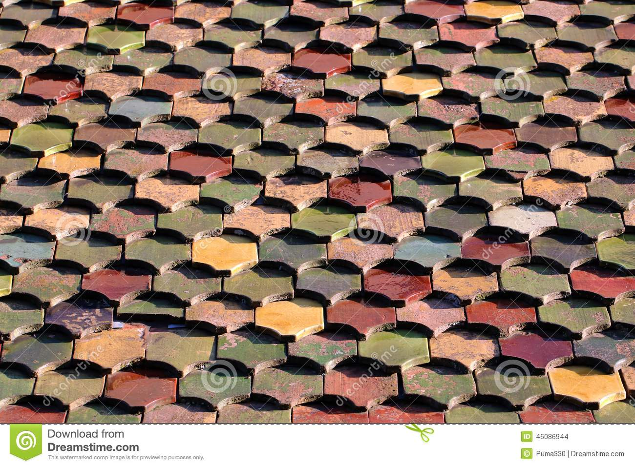 New house roof made of ceramic tile stock photo image of roof new house roof made of ceramic tile dailygadgetfo Gallery