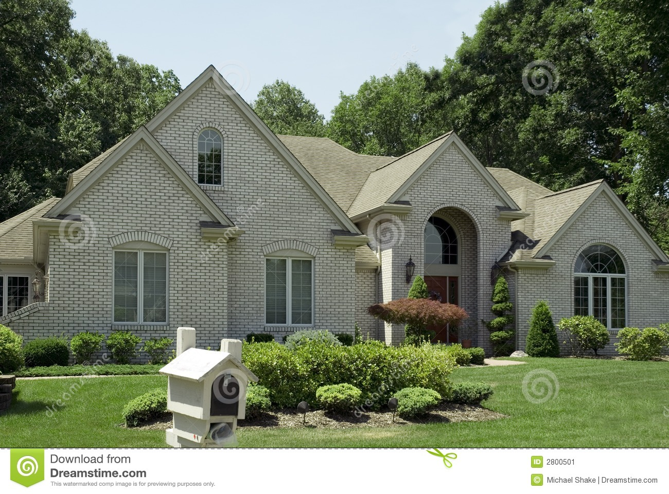 New House For Sale Stock Image Image 2800501