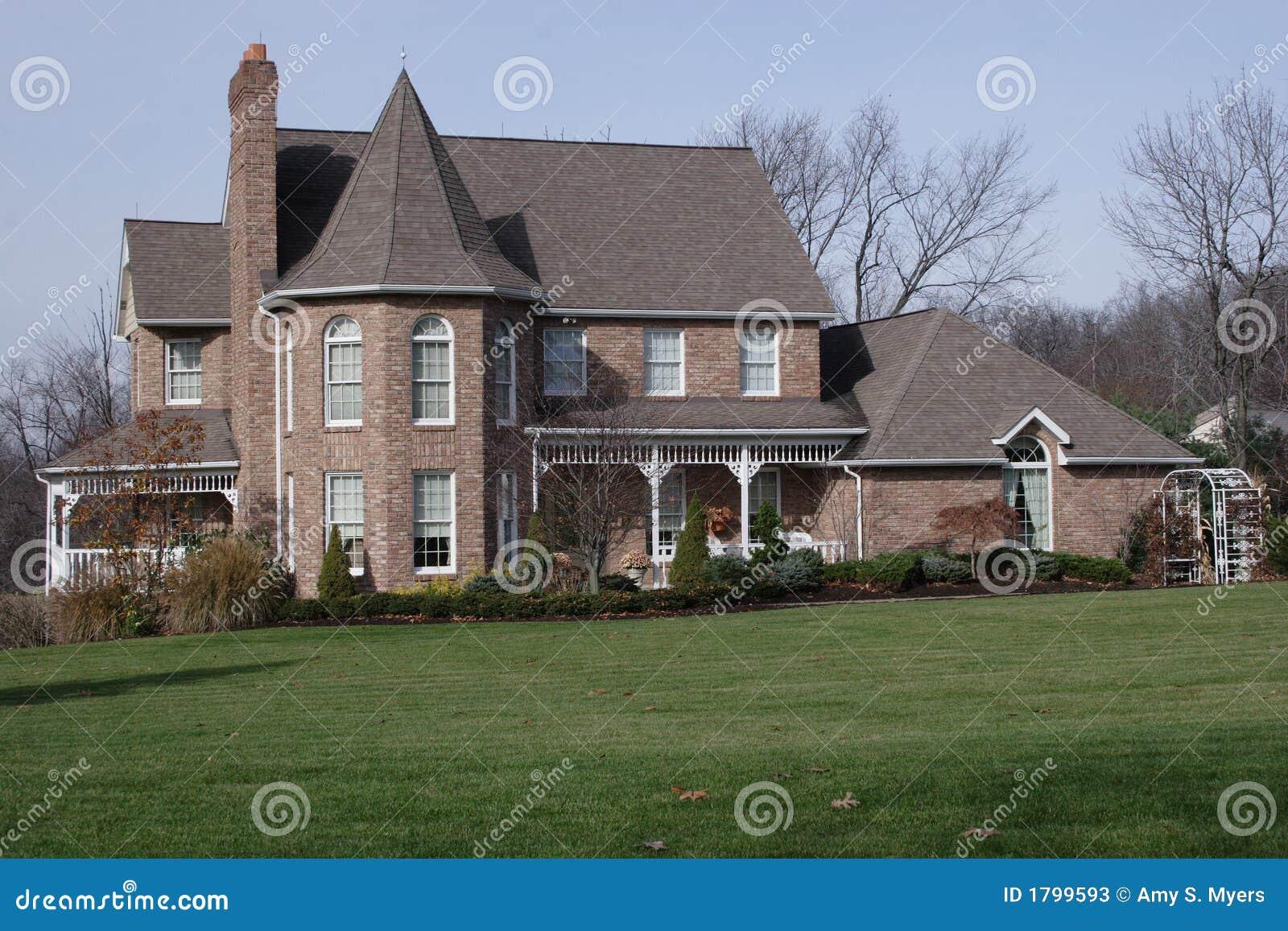 New House Victorian Brick
