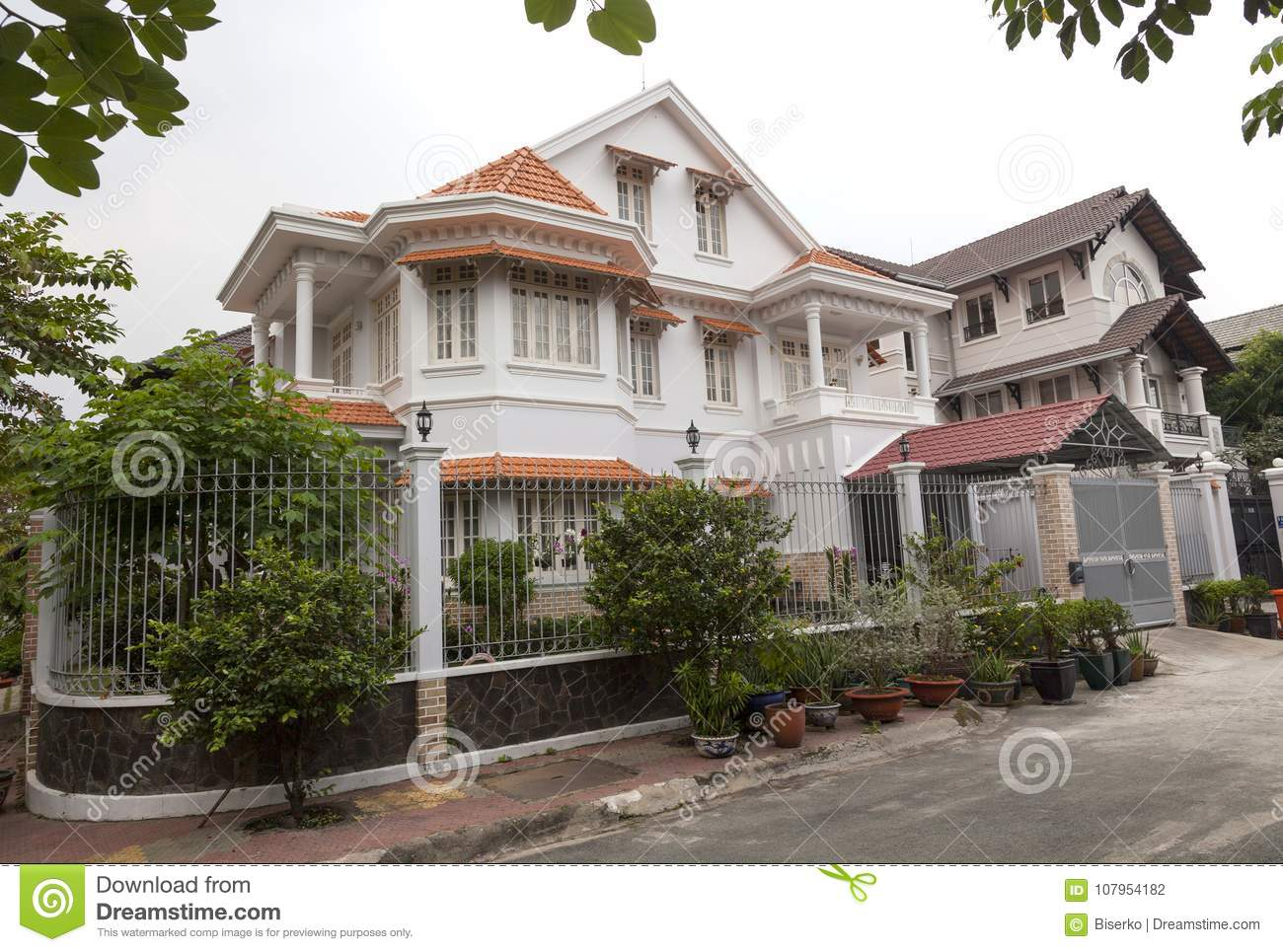 New Houses In District 2 In Ho Chi Minh Vietnam Editorial Photography Image Of China Million 107954182