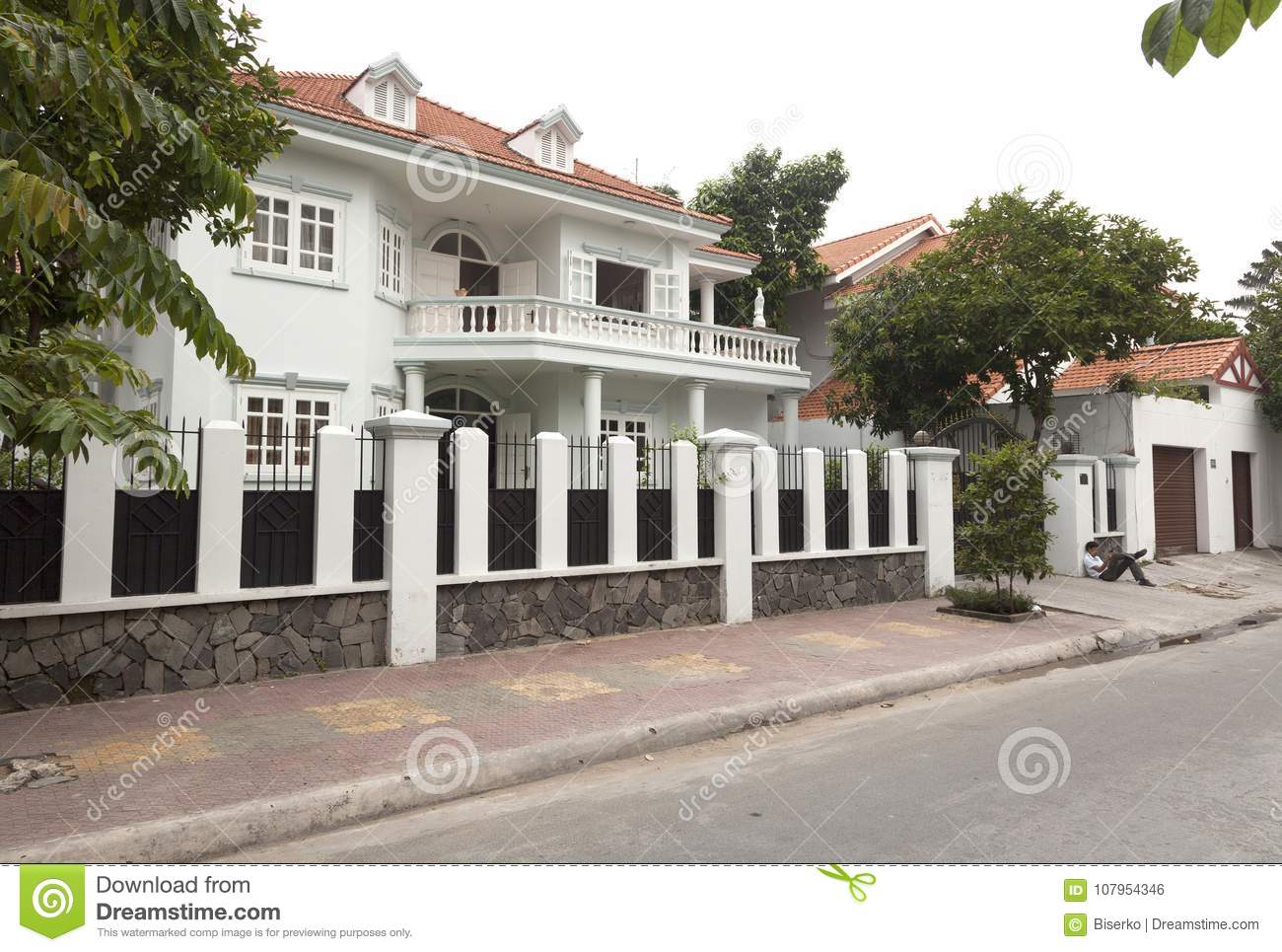 New Houses In District 2 In Ho Chi Minh Vietnam Editorial Photo Image Of Busiest Saigon 107954346