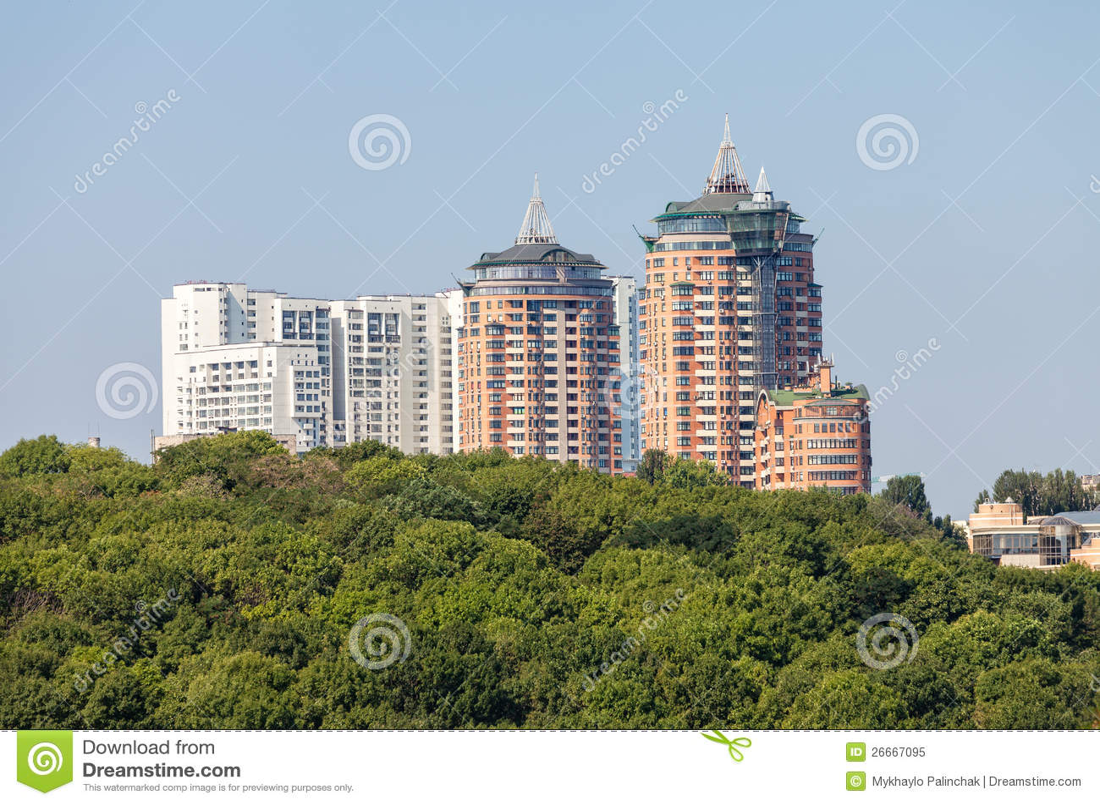Download comp New houses of Kiev stock