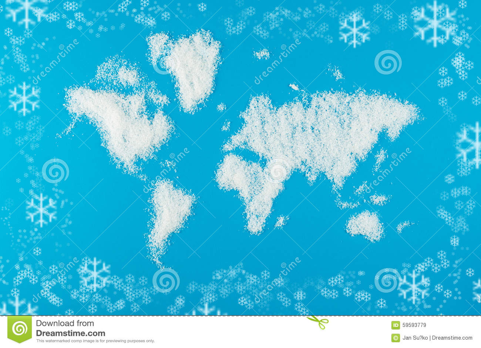 Ice Age Map Of The World.New Ice Age Stock Image Image Of Island Climate Irregular 59593779