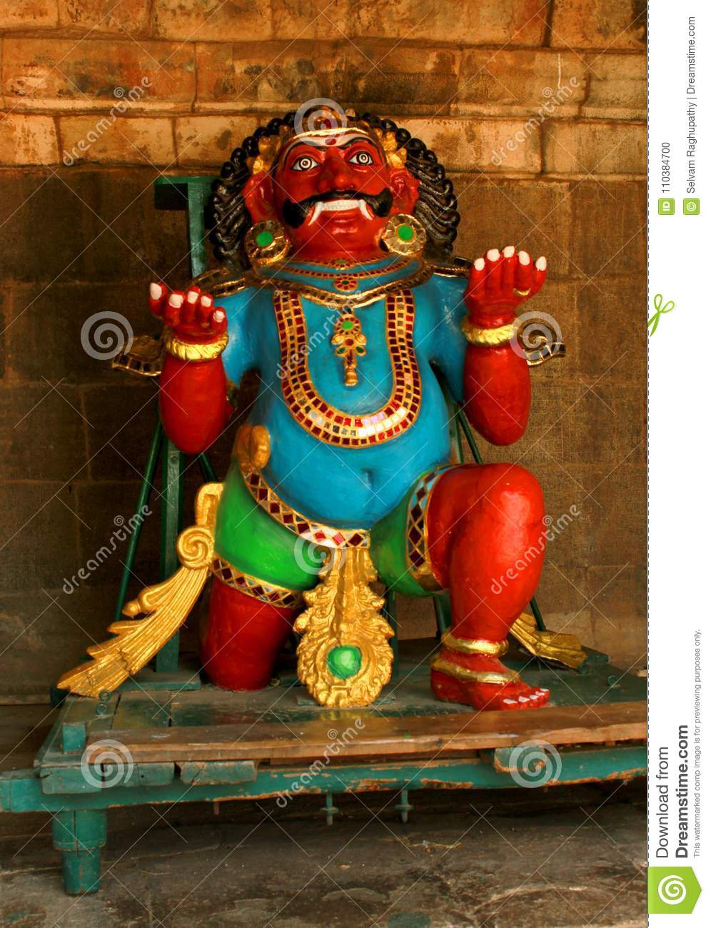 A New Idol That Is Called Bhootha Vahana In The Ancient