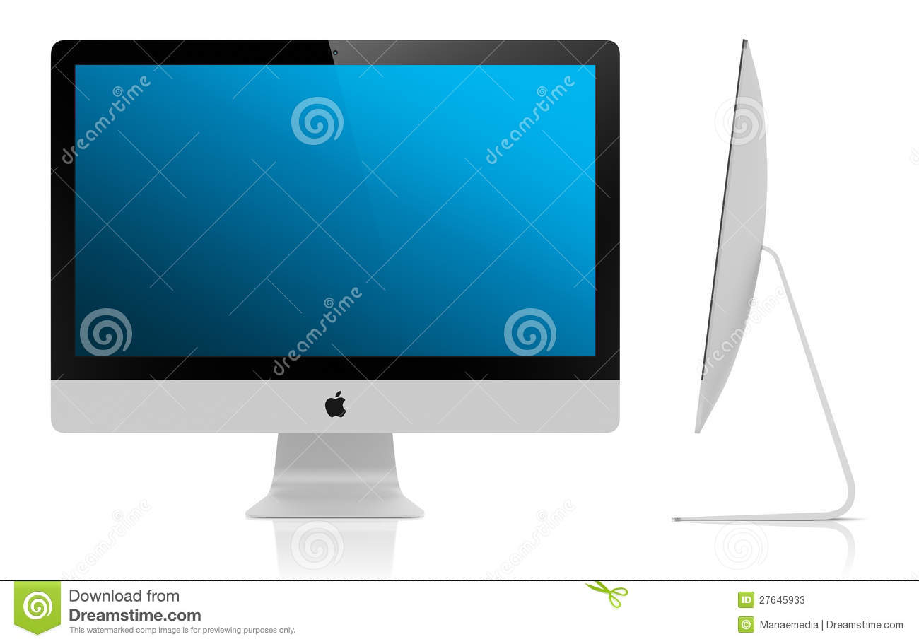 New Imac 2012 5mm Display Editorial Stock Photo Image 27645933