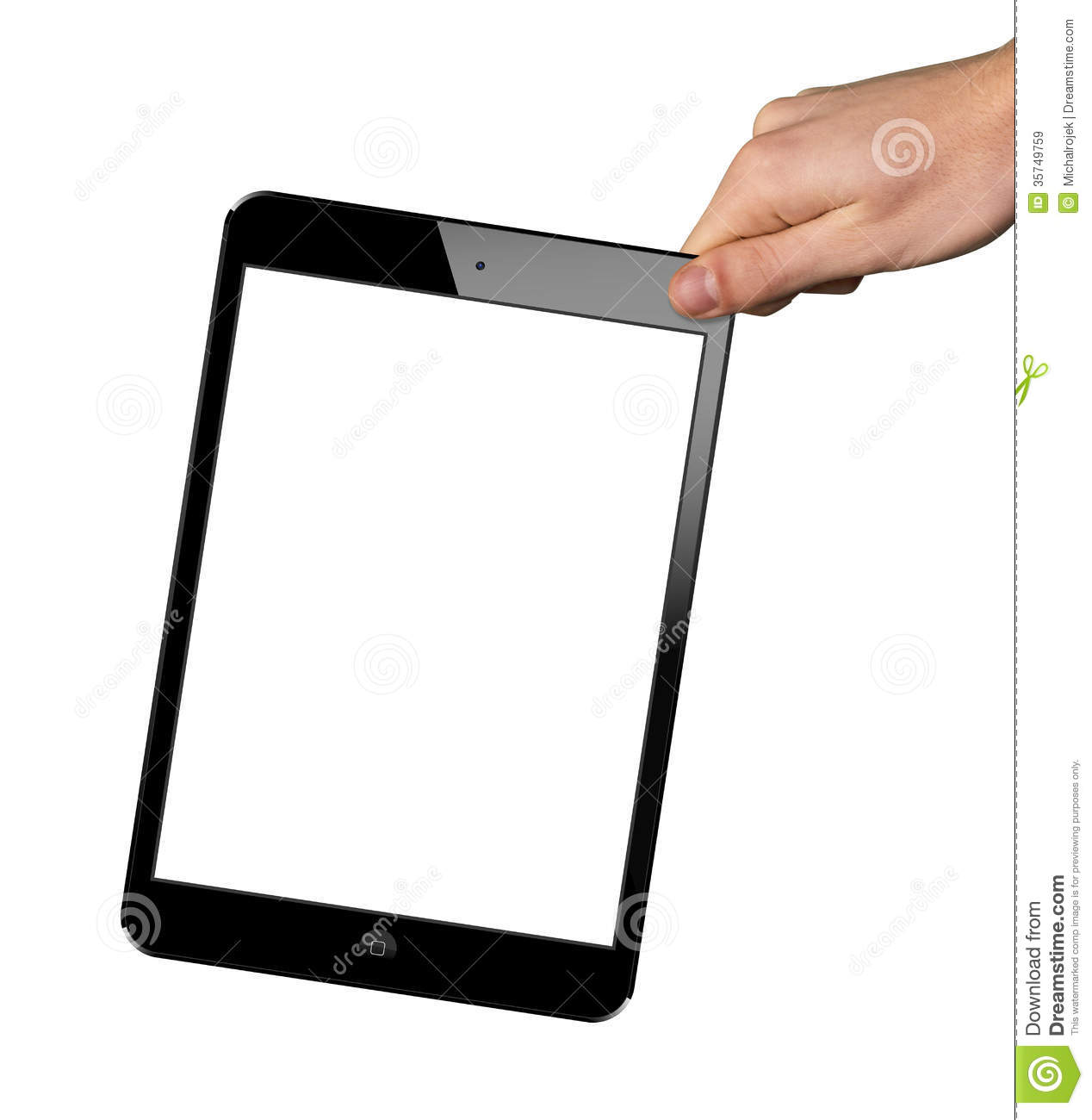A new Ipad in hand