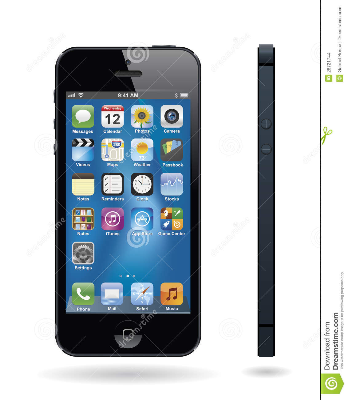New Iphone 5 Editorial Stock Image - Image: 26721744