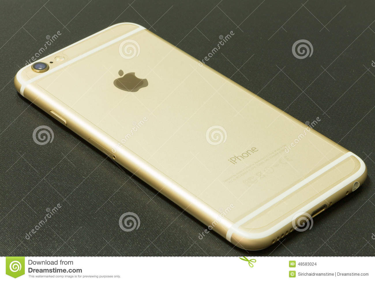 gold iphone 6 new iphone 6 gold editorial stock image image 48583024 10710