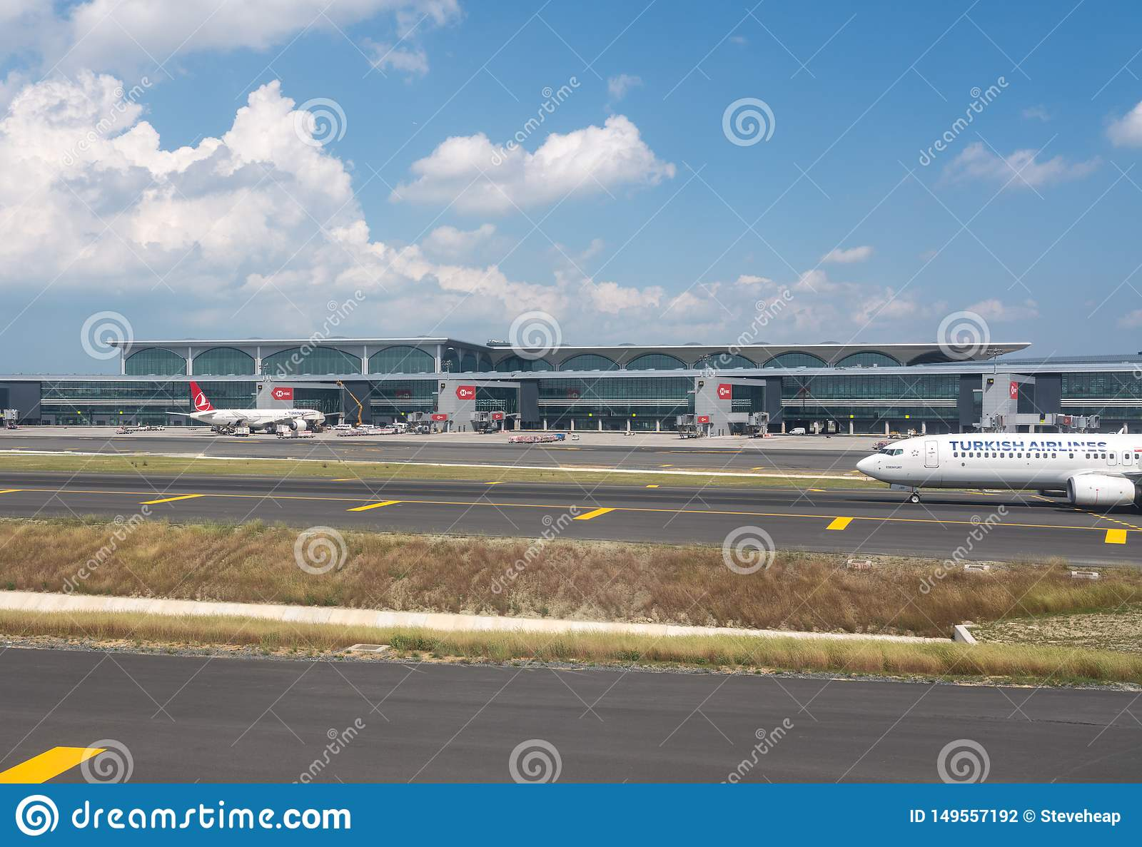 New Istanbul Airport In Turkey Editorial Photography - Image