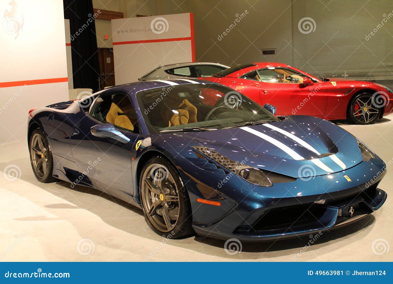 New Italian Sports Cars