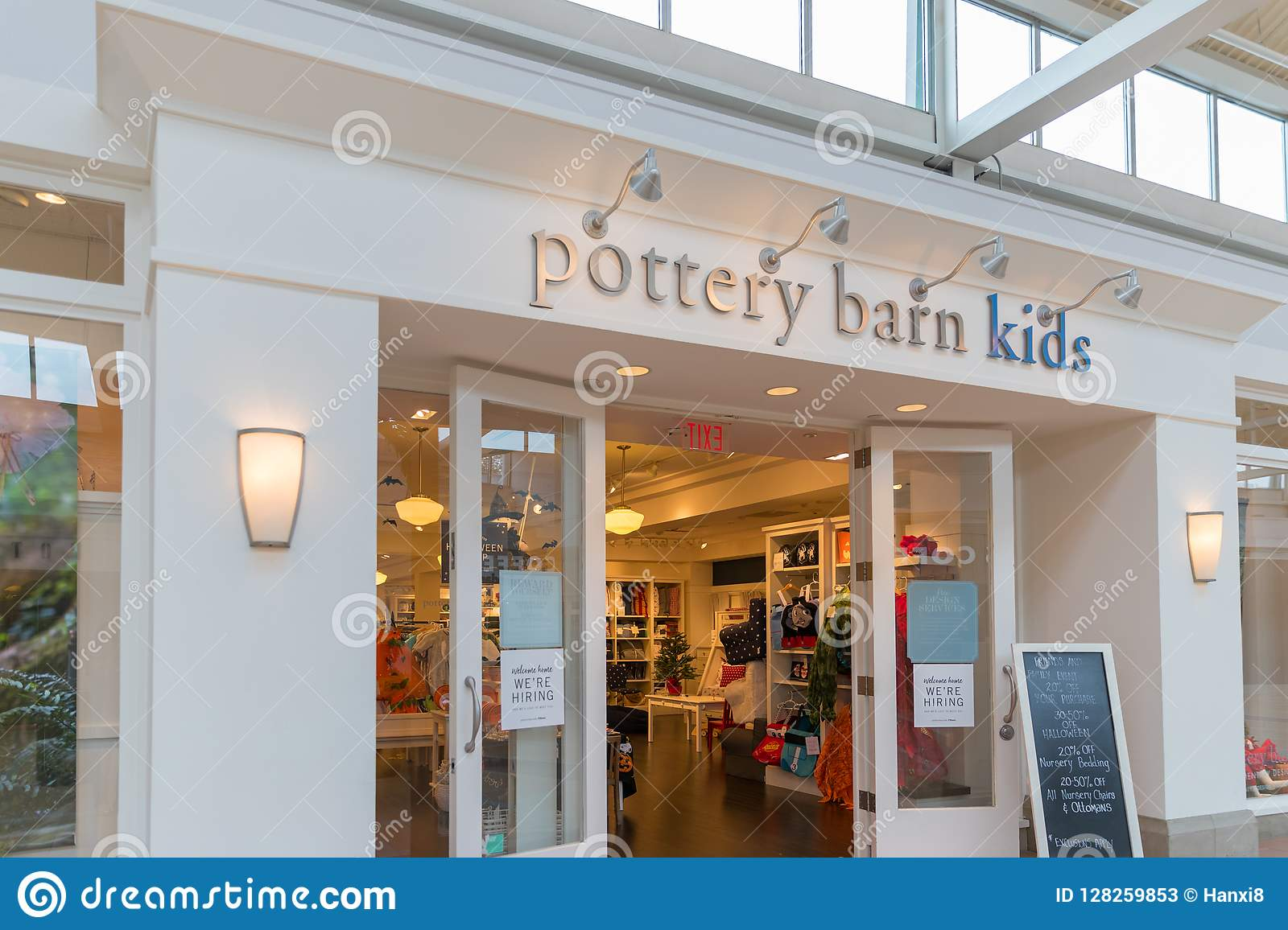 Astonishing Pottery Barn Kids Retail Store In New Jersey Editorial Lamtechconsult Wood Chair Design Ideas Lamtechconsultcom
