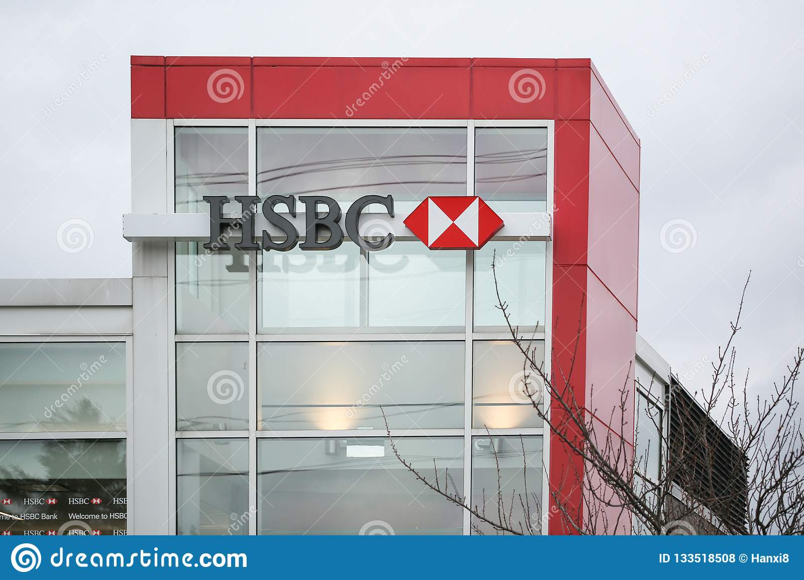 HSBC Bank Branch In New Jersey  Editorial Stock Photo - Image of