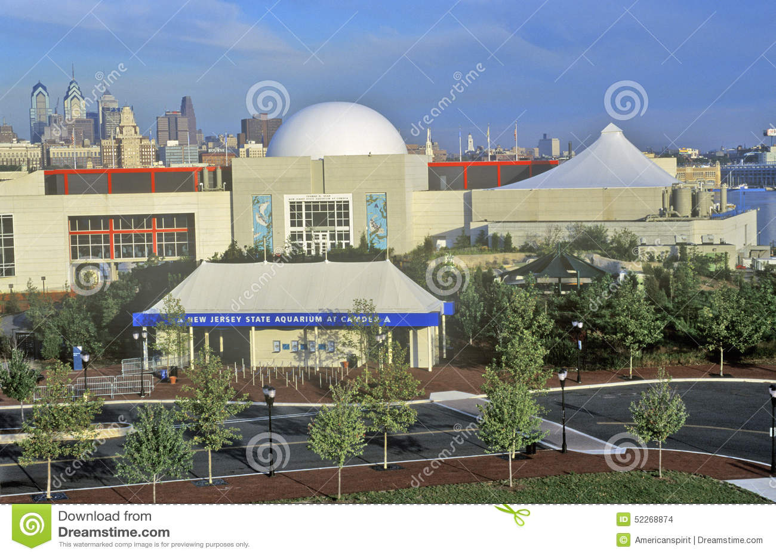 New Jersey State Aquarium In Camden Nj With Philadelphia