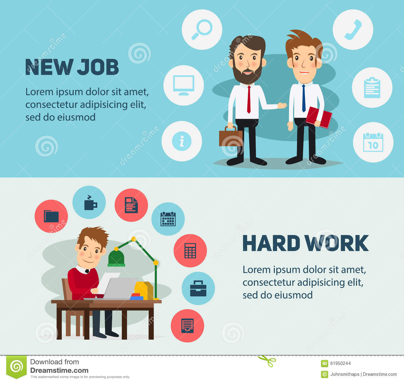 new job at the office stock photo image  new job search and stress work infographic office stock images