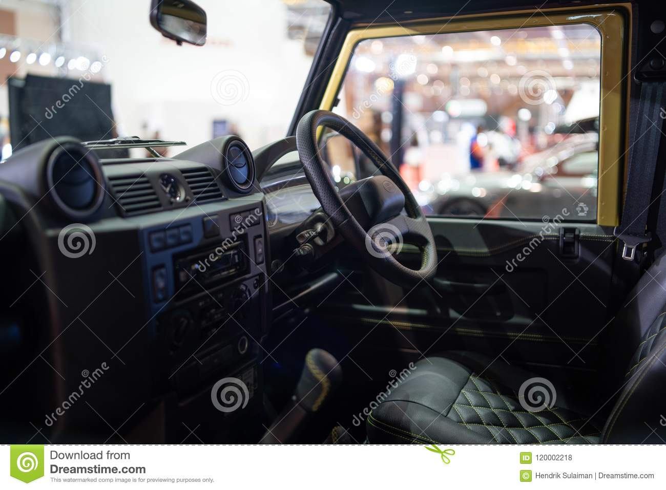 New Land Rover Defender 2018 Editorial Stock Photo Image Of