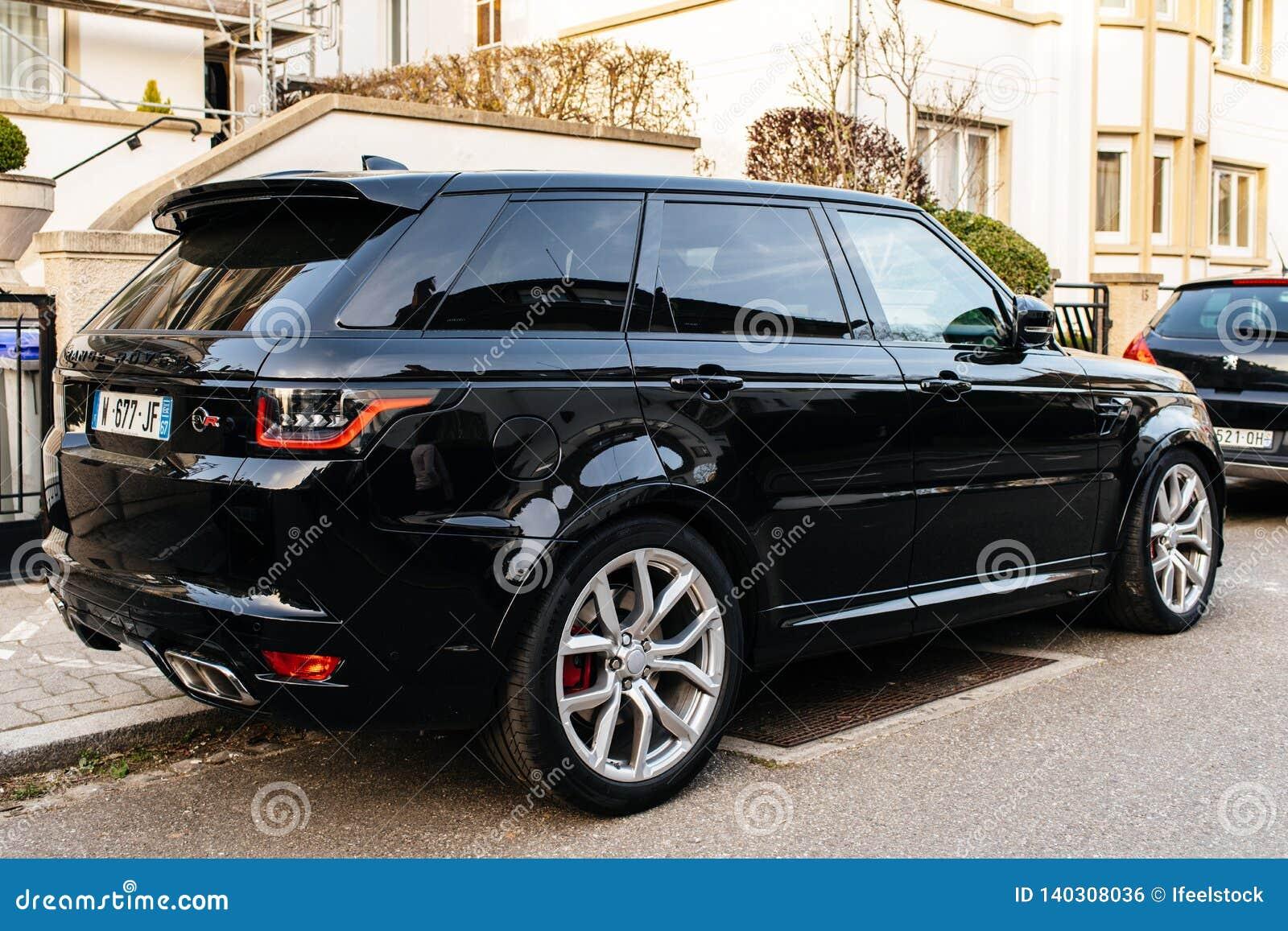 New Land Rover Range Rover Sport Svr Suv Editorial Photo Image Of Tire Evoque 140308036