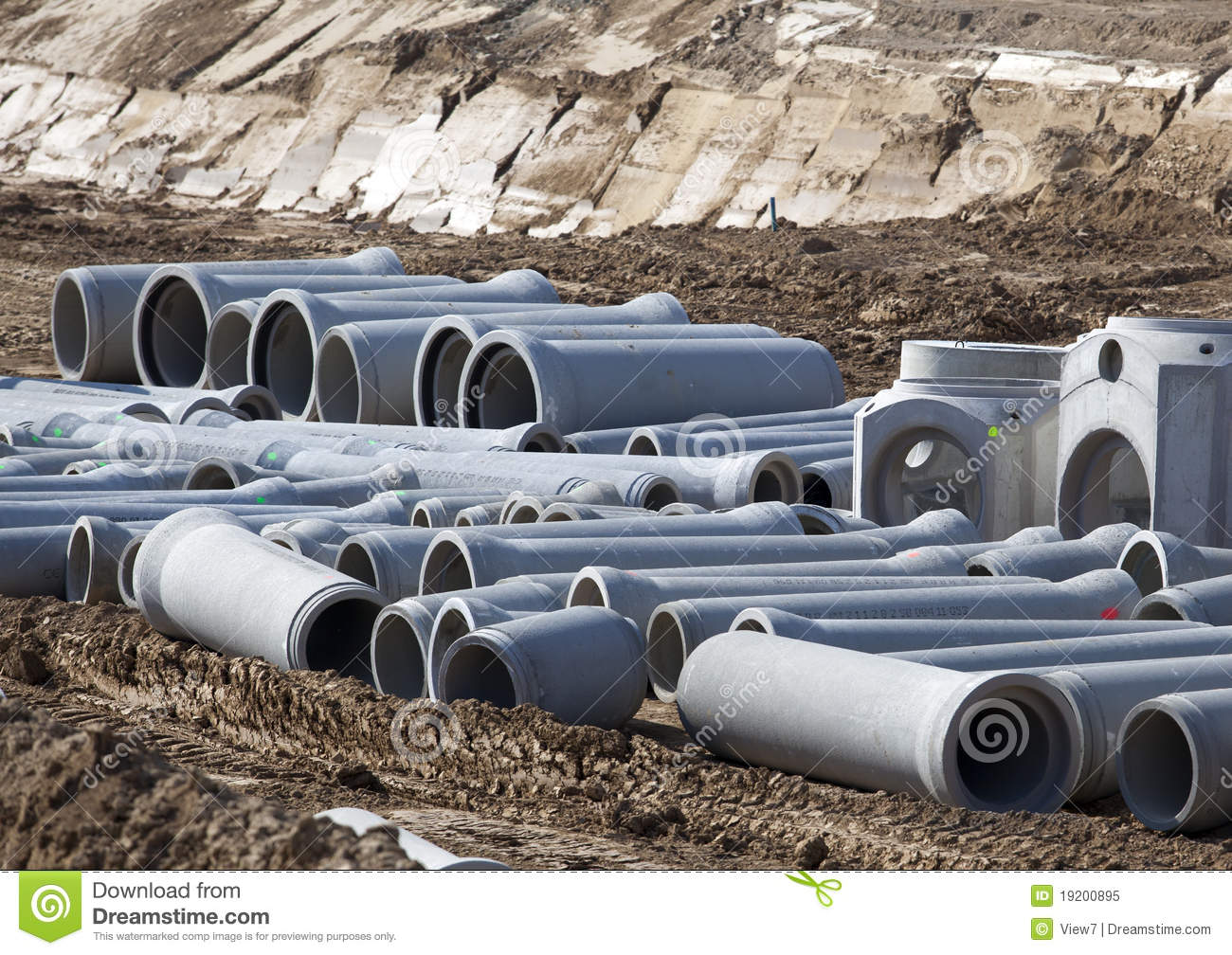 New large water pipes stock image image of industry for New water pipes