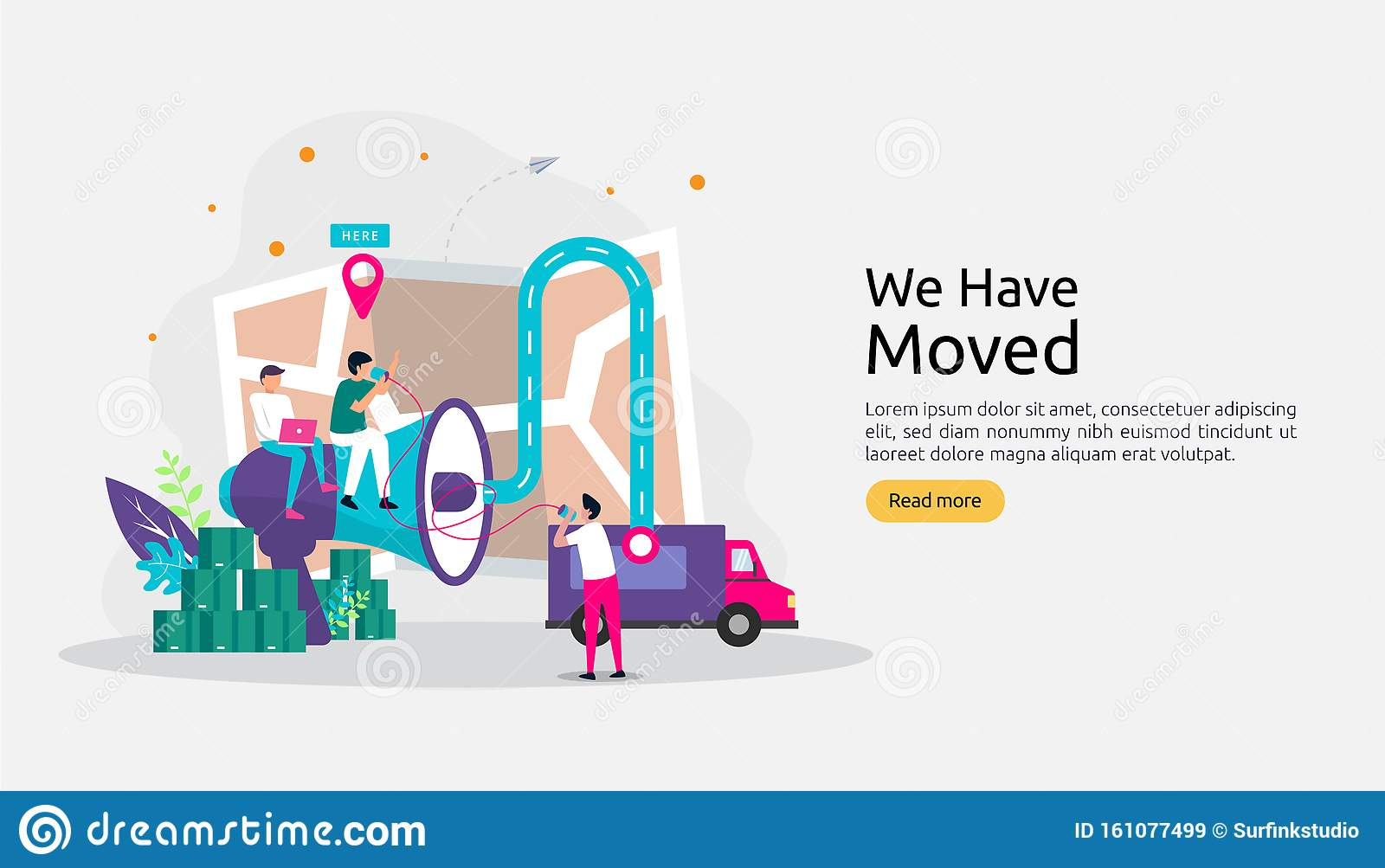 New Location Announcement Business Or Change Office Address
