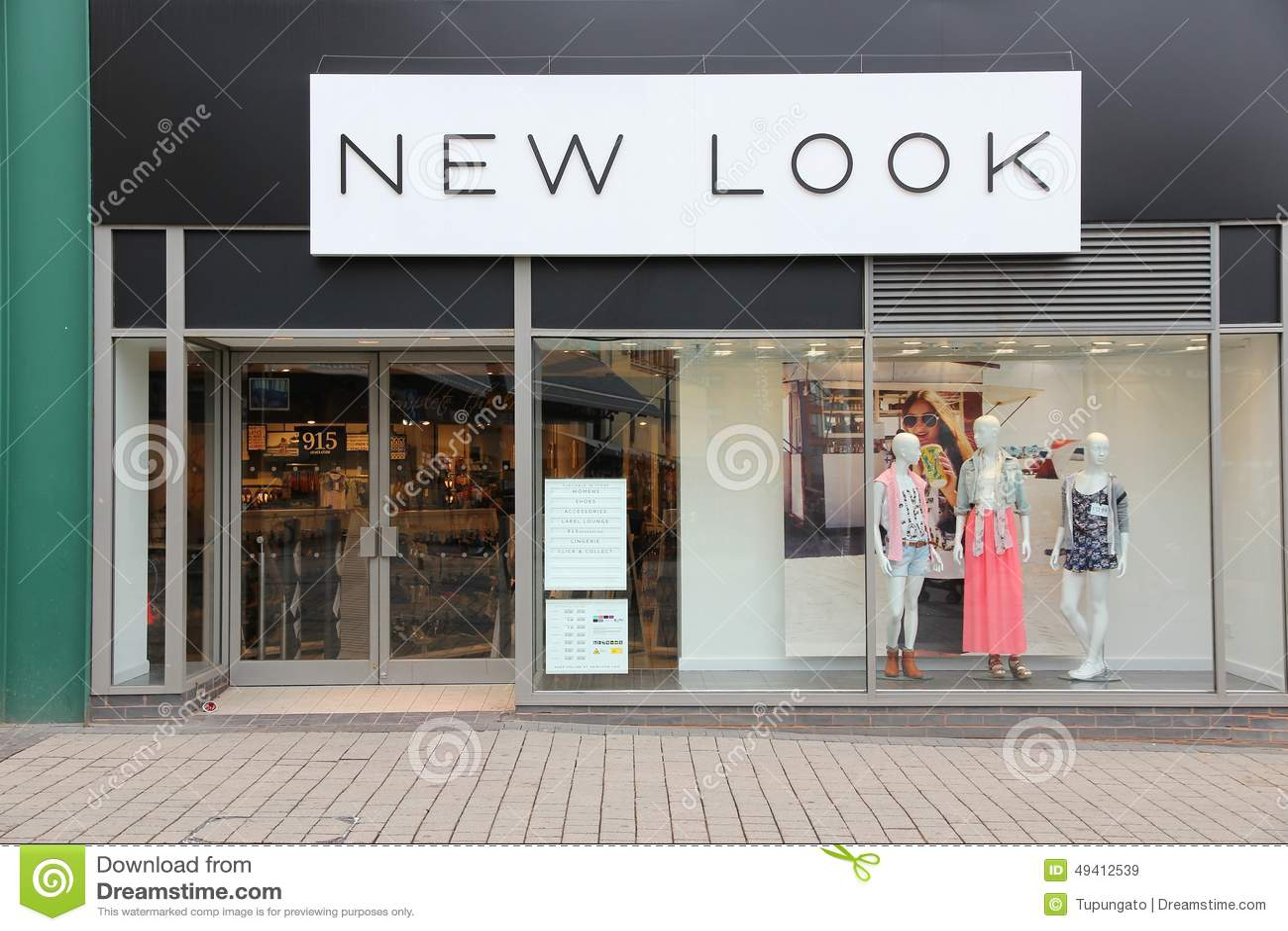 Download New Look-Mode redaktionelles stockbild. Bild von vereinigt - 49412539