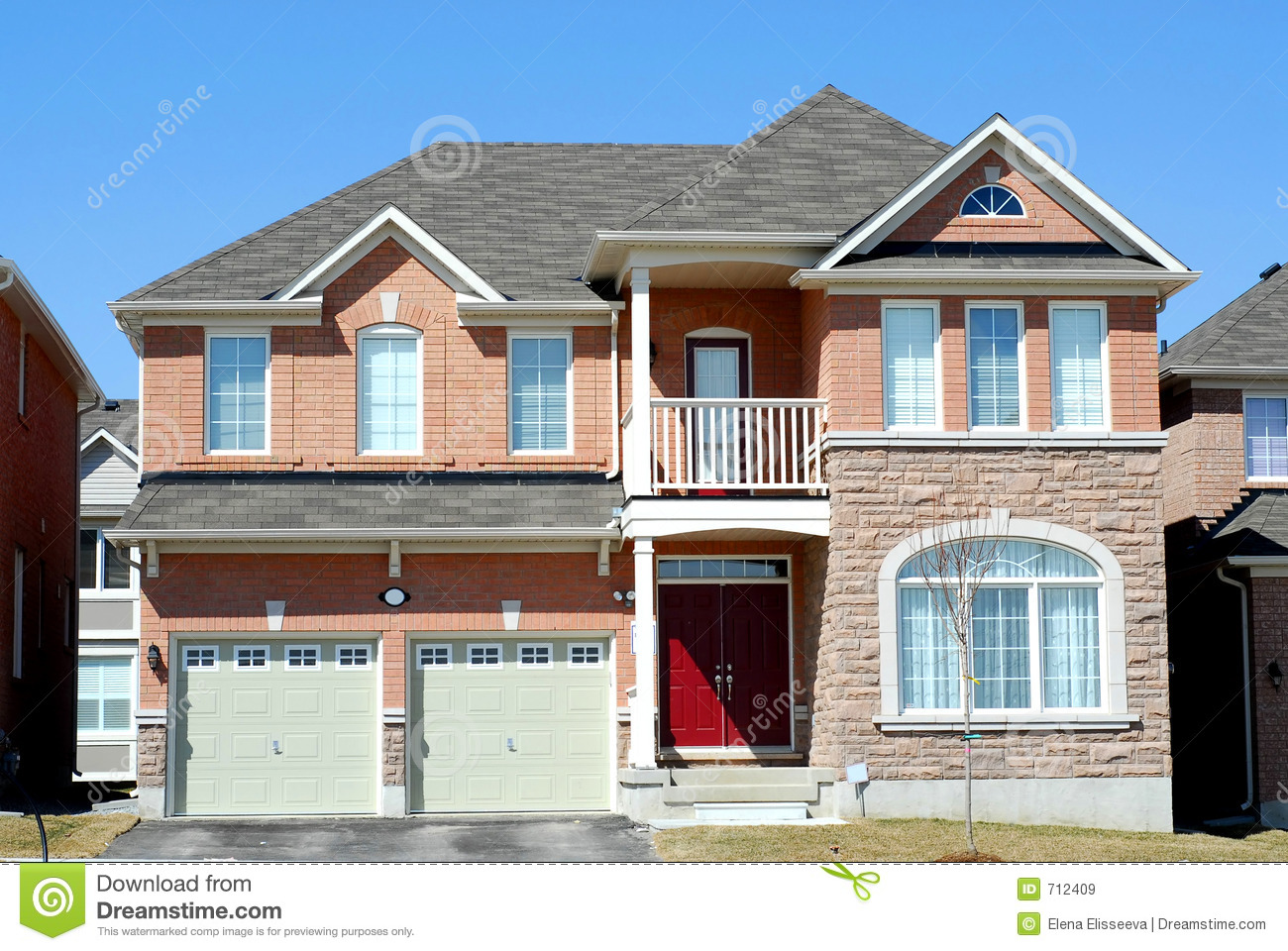 New luxury home royalty free stock images image 712409 for Free luxury home images