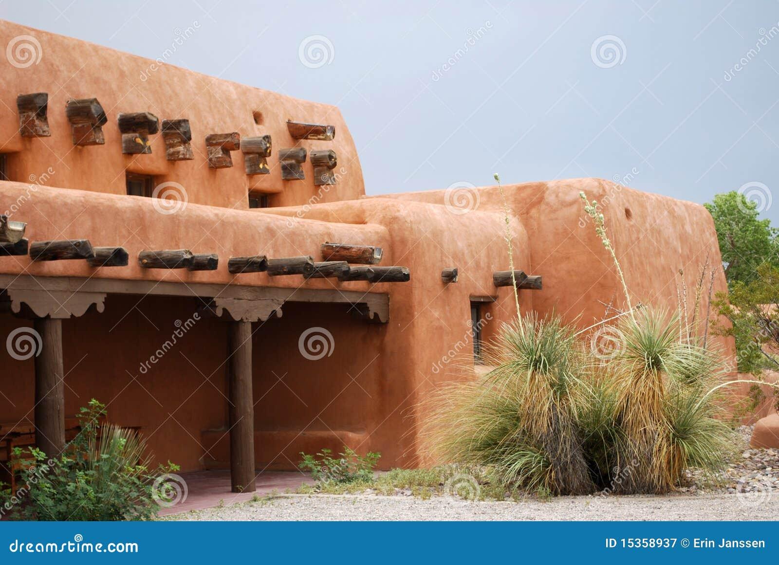 New Mexico adobe house stock image Image of hispanic 15358937