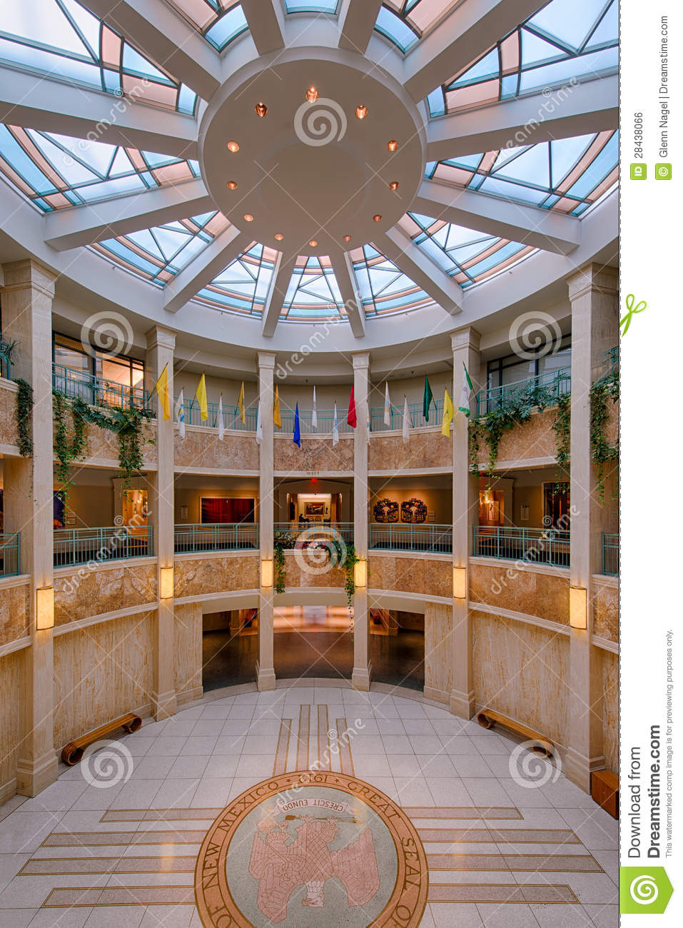 New Mexico State Capitol Building Royalty Free Stock Image