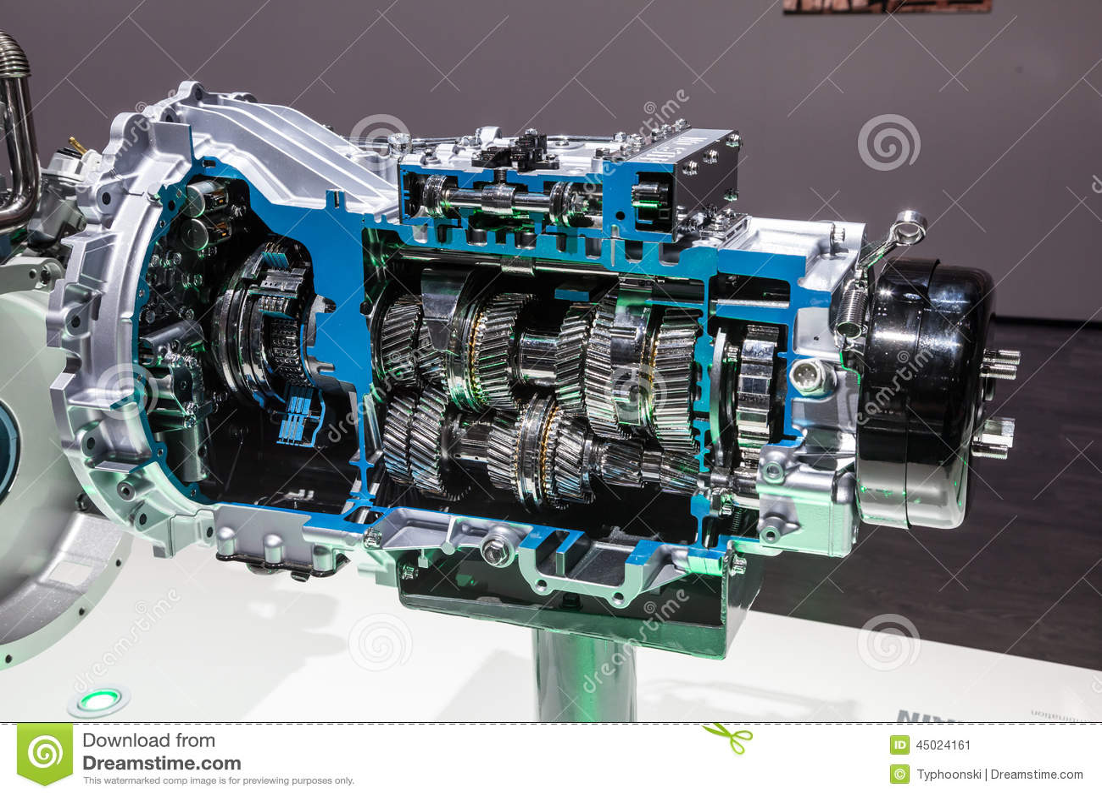 New Mitsubishi automatic gearbox