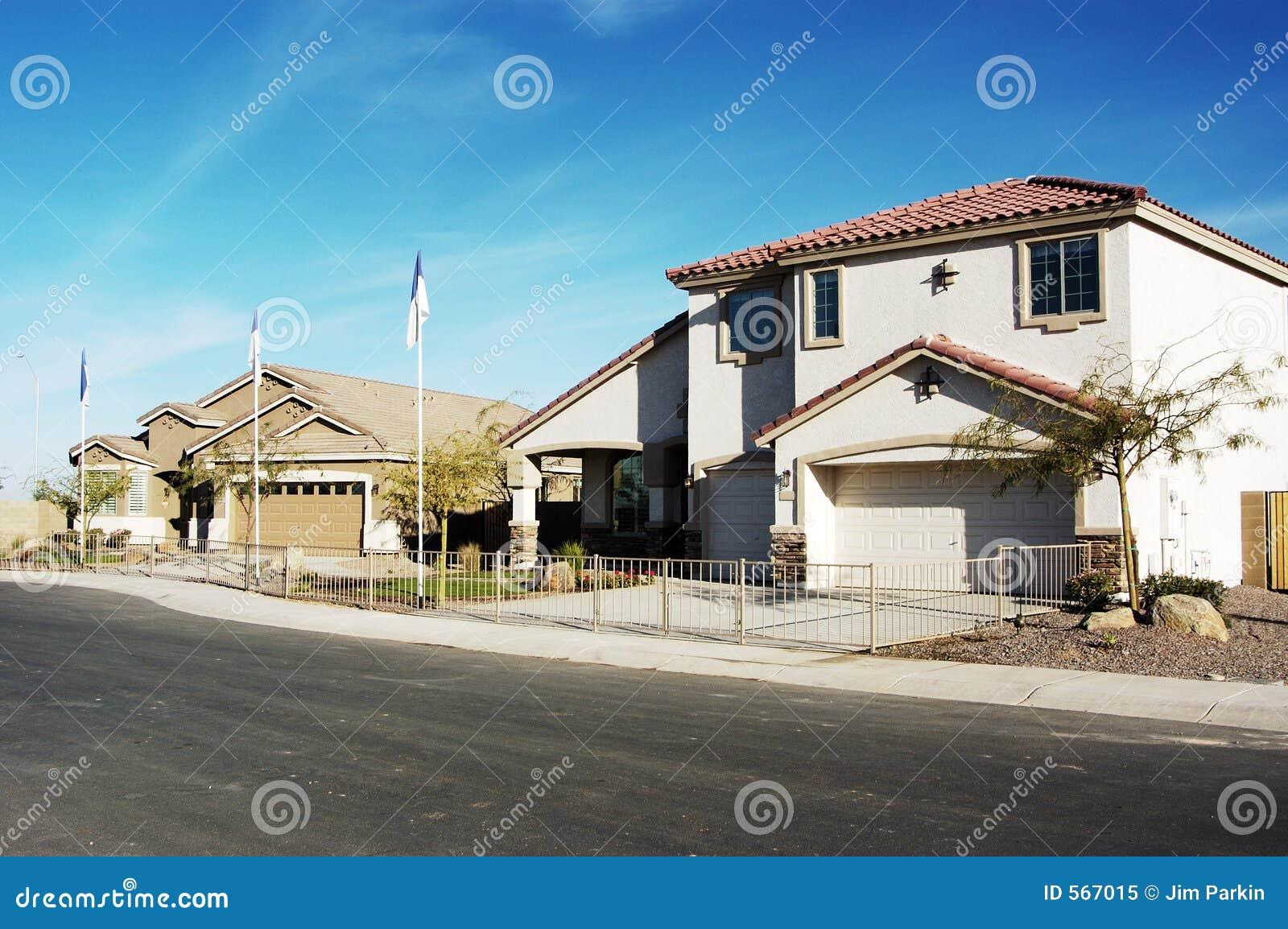 New model homes stock image image of models southwest for New home models