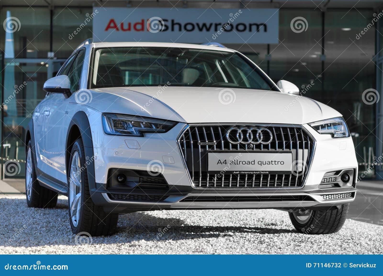 New Model Of WD Crossover Audi A Allroad Quattro Car Editorial - Audi 4wd models