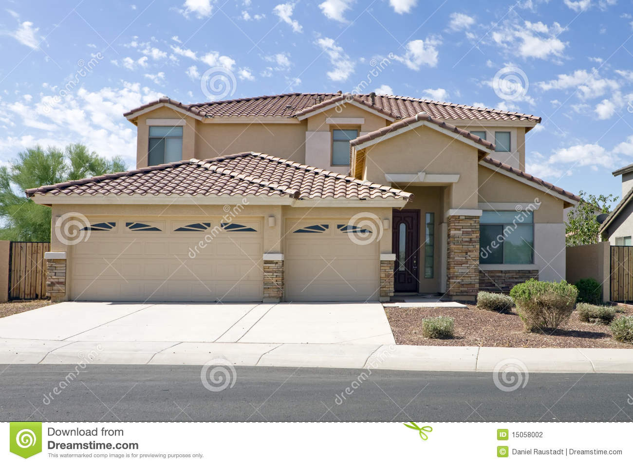 New modern classic home stock photography image 15058002 for Modern classic house