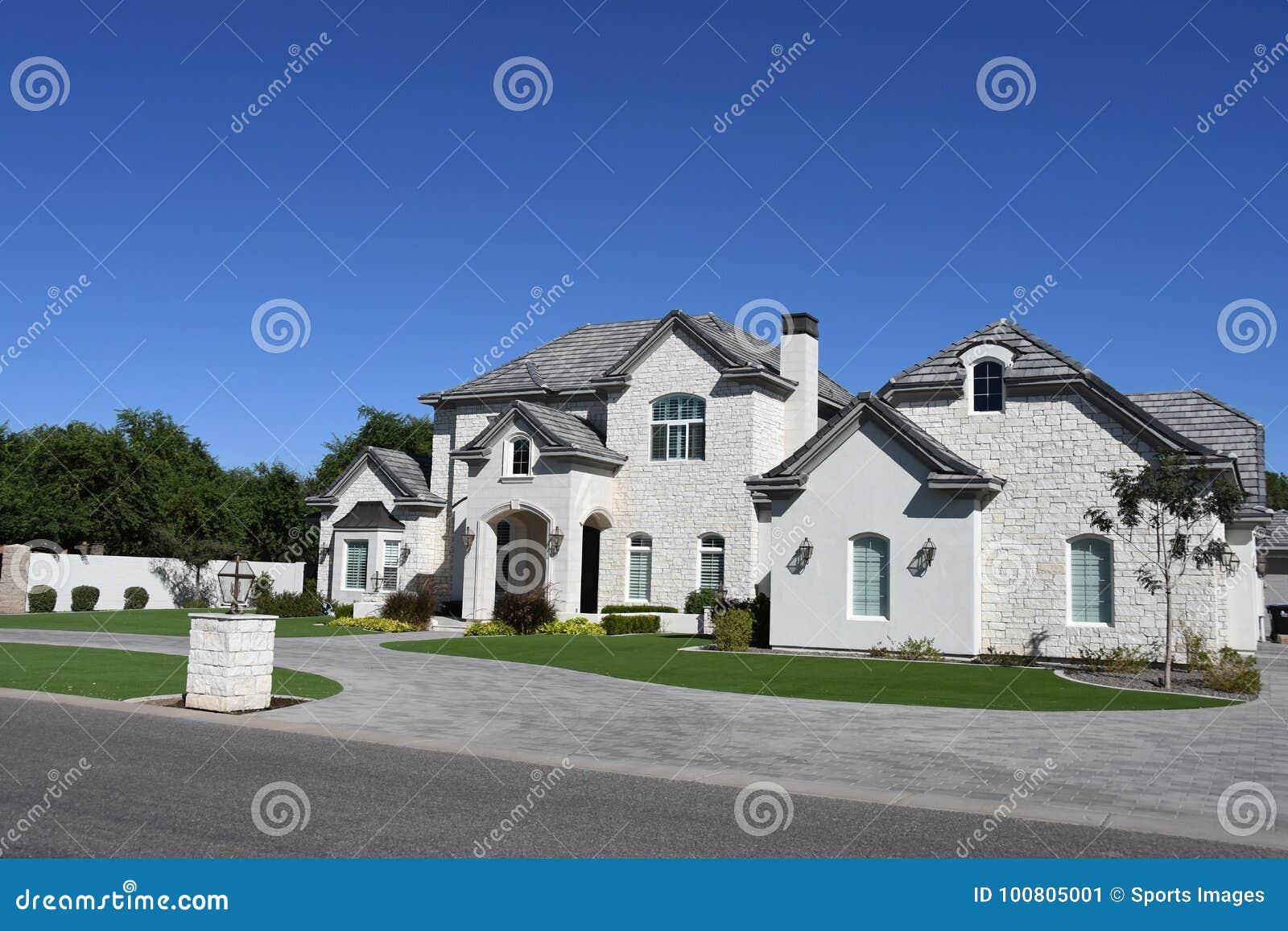 New modern classic home in arizona