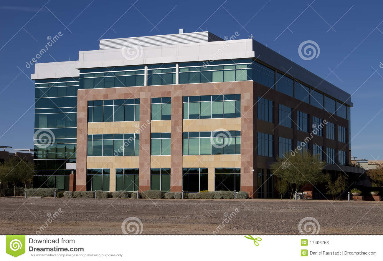 New modern corporate office building exterior royalty free for Exterior design office buildings