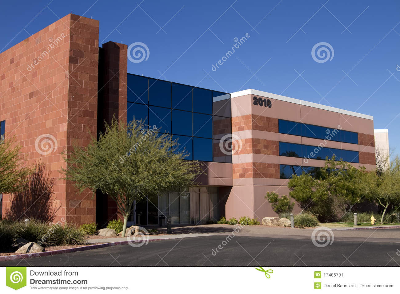 New modern corporate office building exterior stock image for Modern office building exterior design