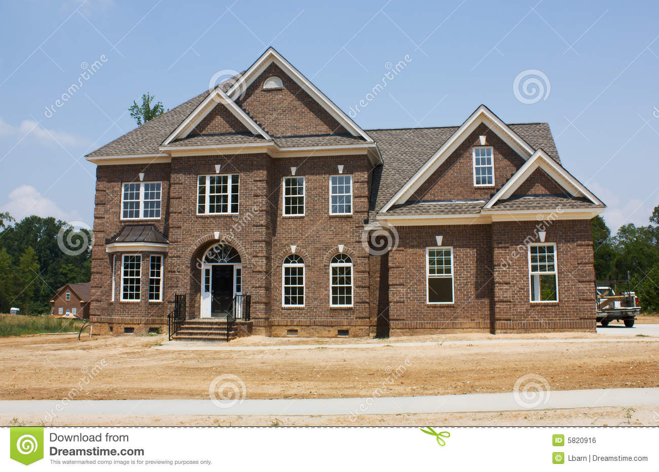 New modern detached house royalty free stock image image for Modern detached house design
