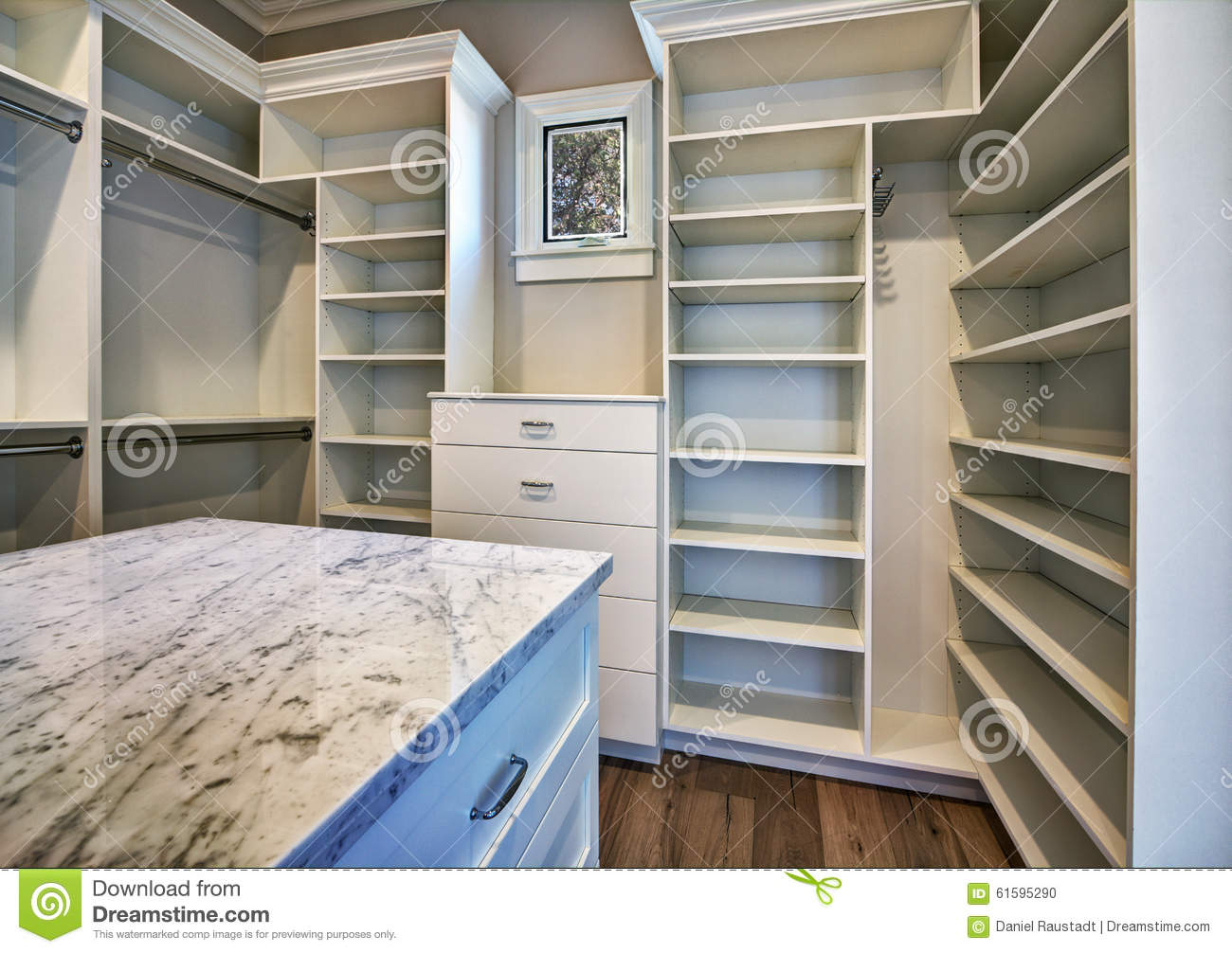 Master Bedroom Closet new modern home master bedroom closet stock photo - image: 61595290