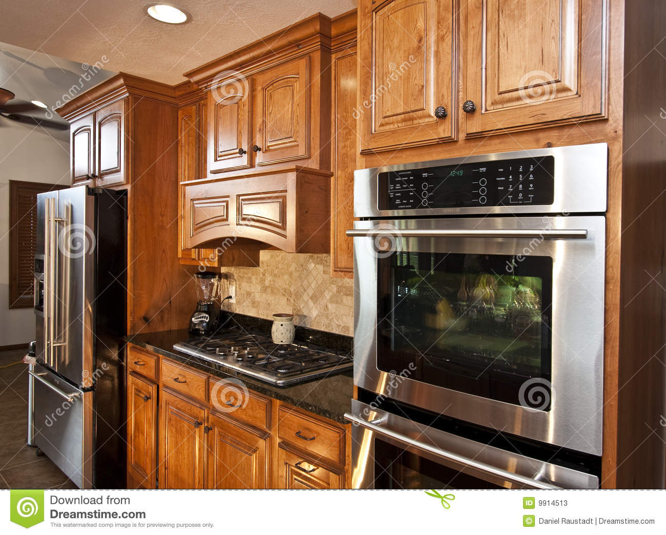 New Modern Kitchen Appliances Stock Photos Image