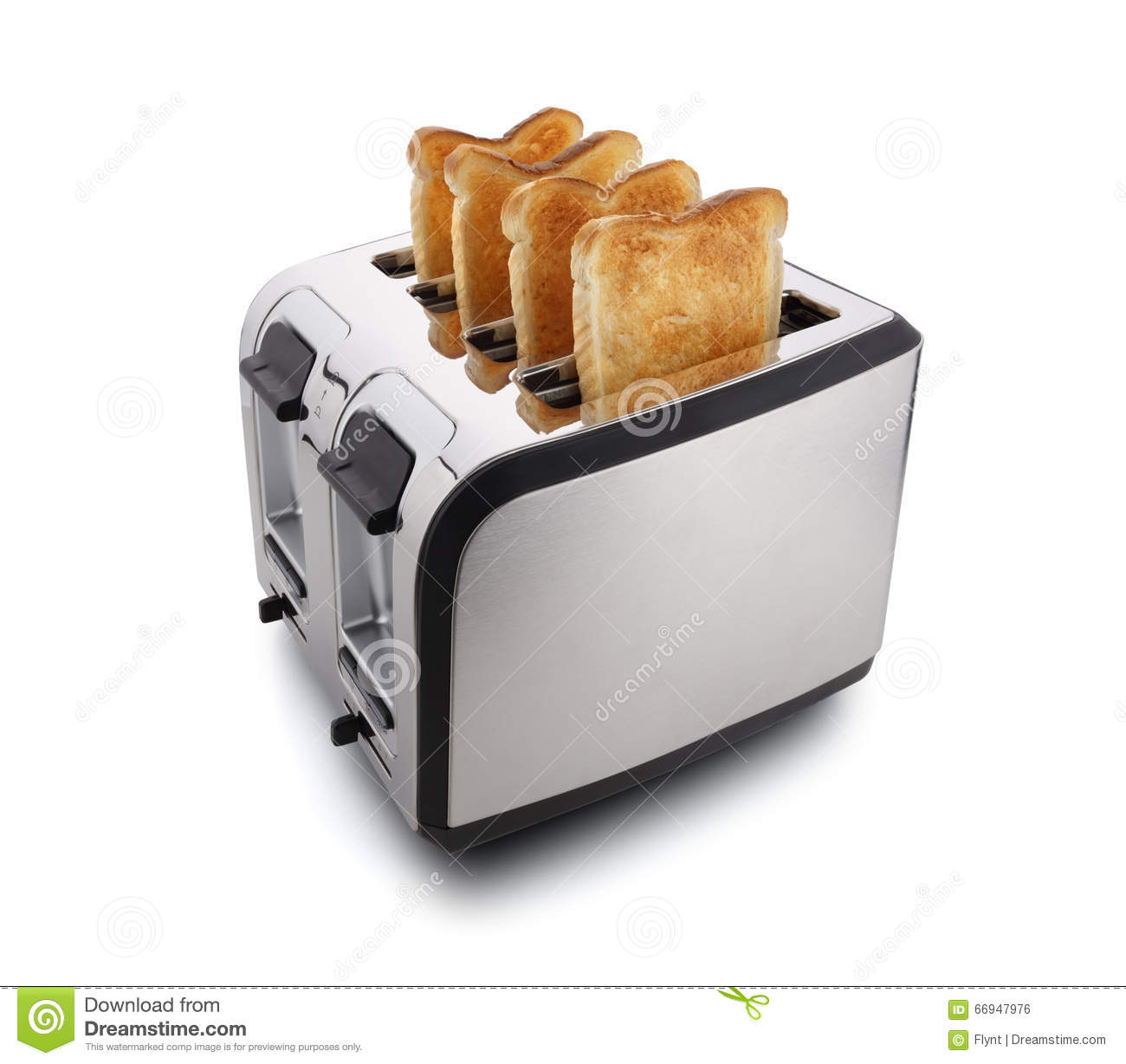 new modern toaster stock photo  image  - new modern toaster stock photo