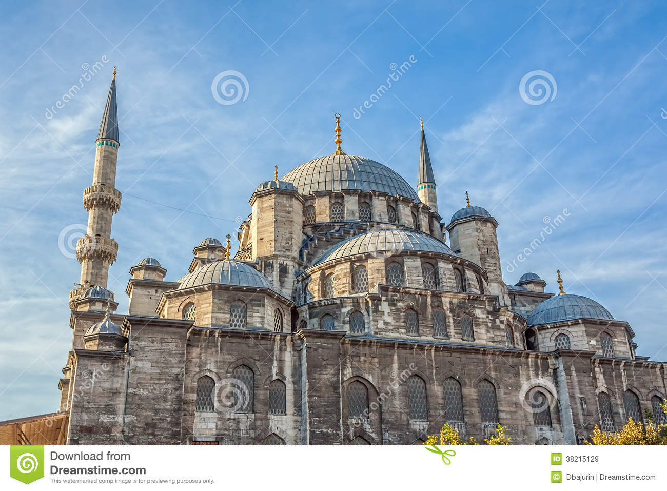 New Mosque (Yeni Cami) Royalty Free Stock Images - Image ...