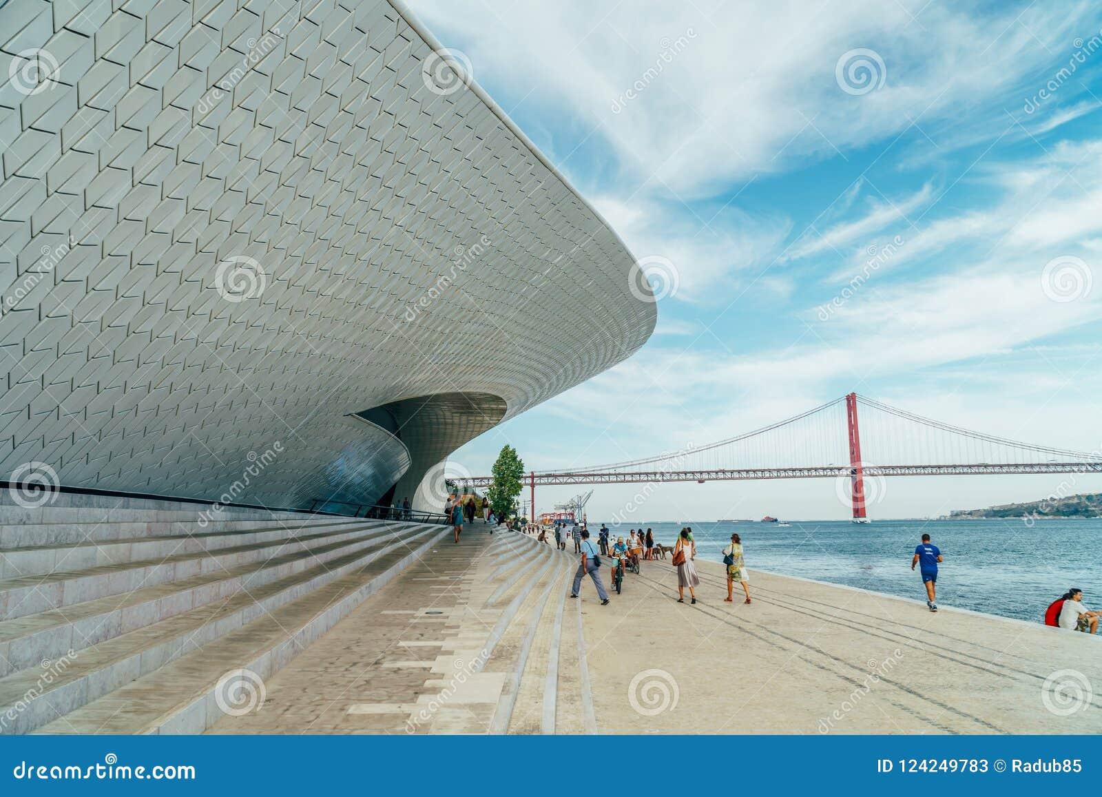 The New Museum Of Art, Architecture and Technology Museu de Arte, Arquitetura e Tecnologia Or MAAT
